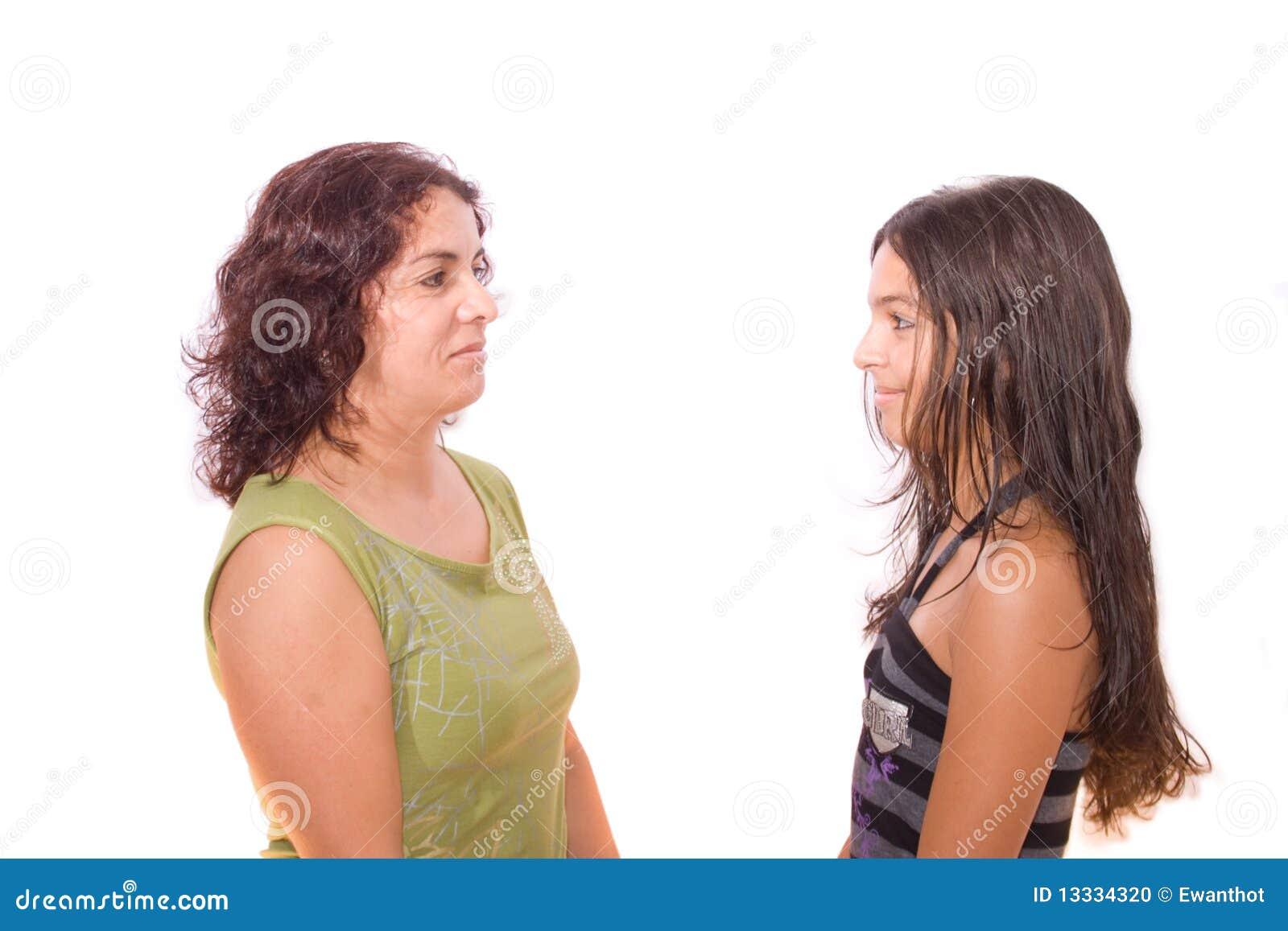 Przyglądająca córki inna matka jeden