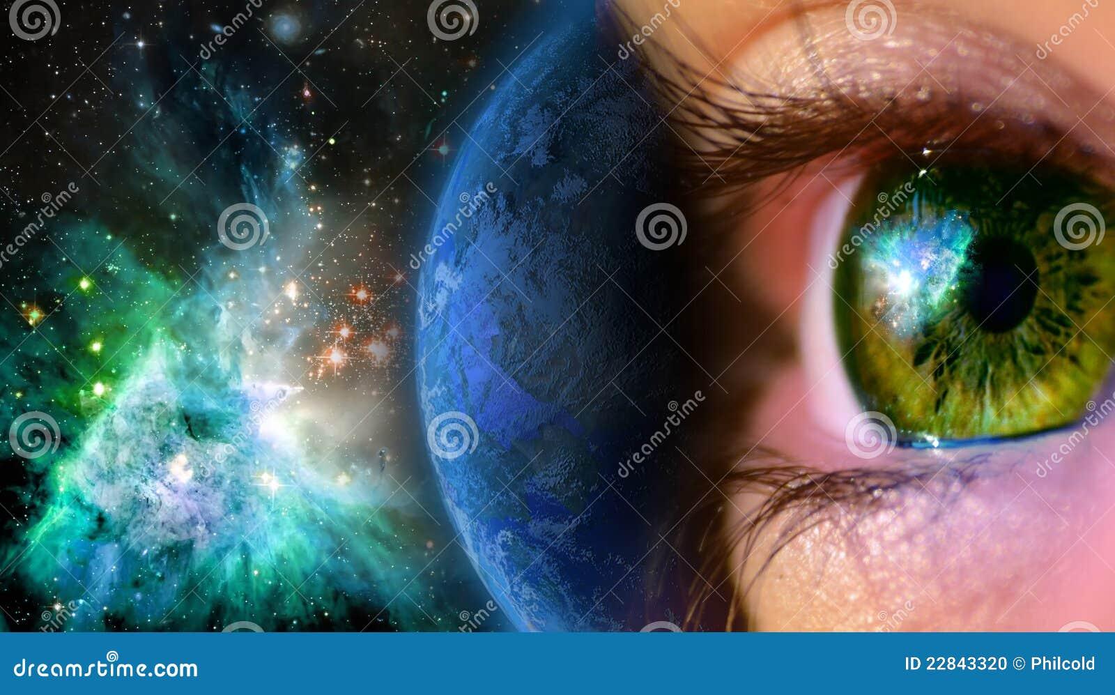 Przyglądający wszechświat