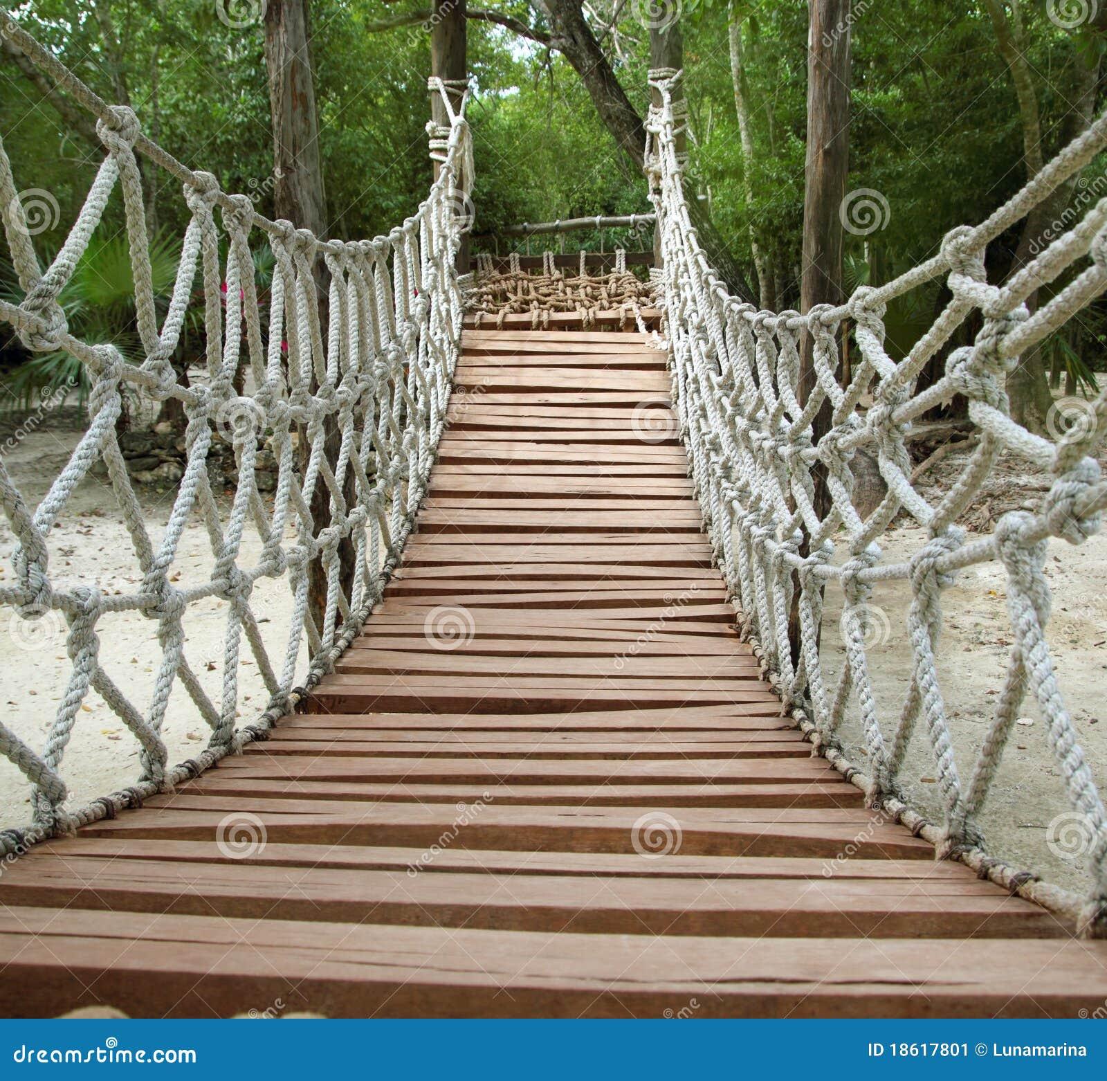 Przygody bridżowy dżungli arkany zawieszenie drewniany