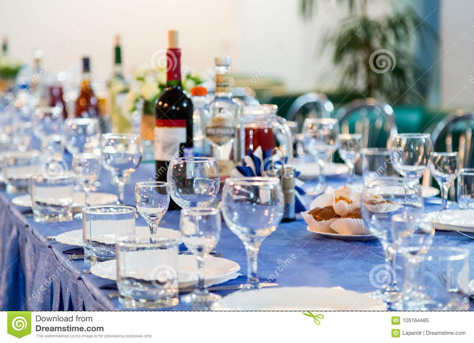 Przygotowania dla bufeta lub bankieta Galowy przyjęcie catering