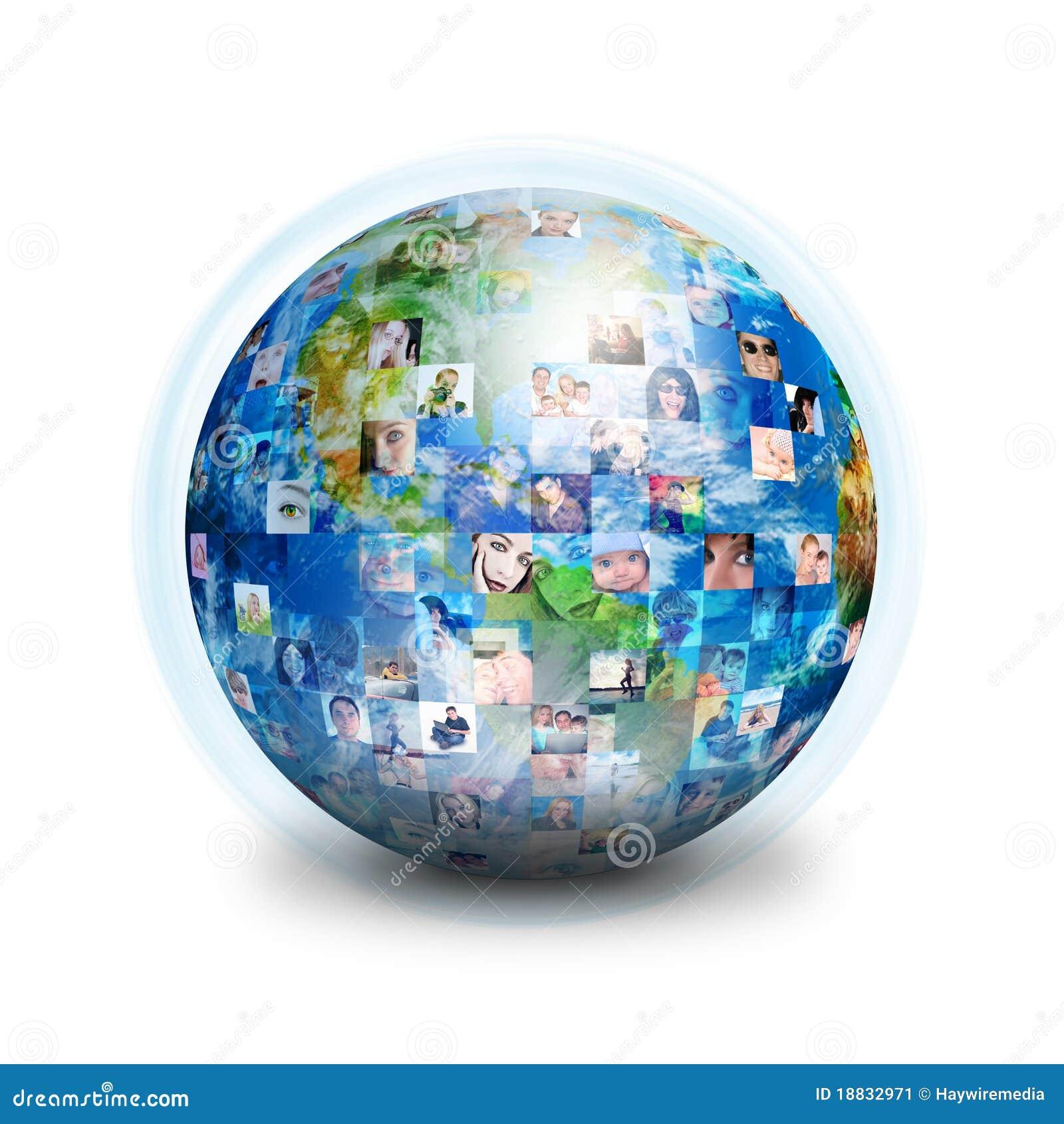 Przyjaciół kuli ziemskiej sieci socjalny