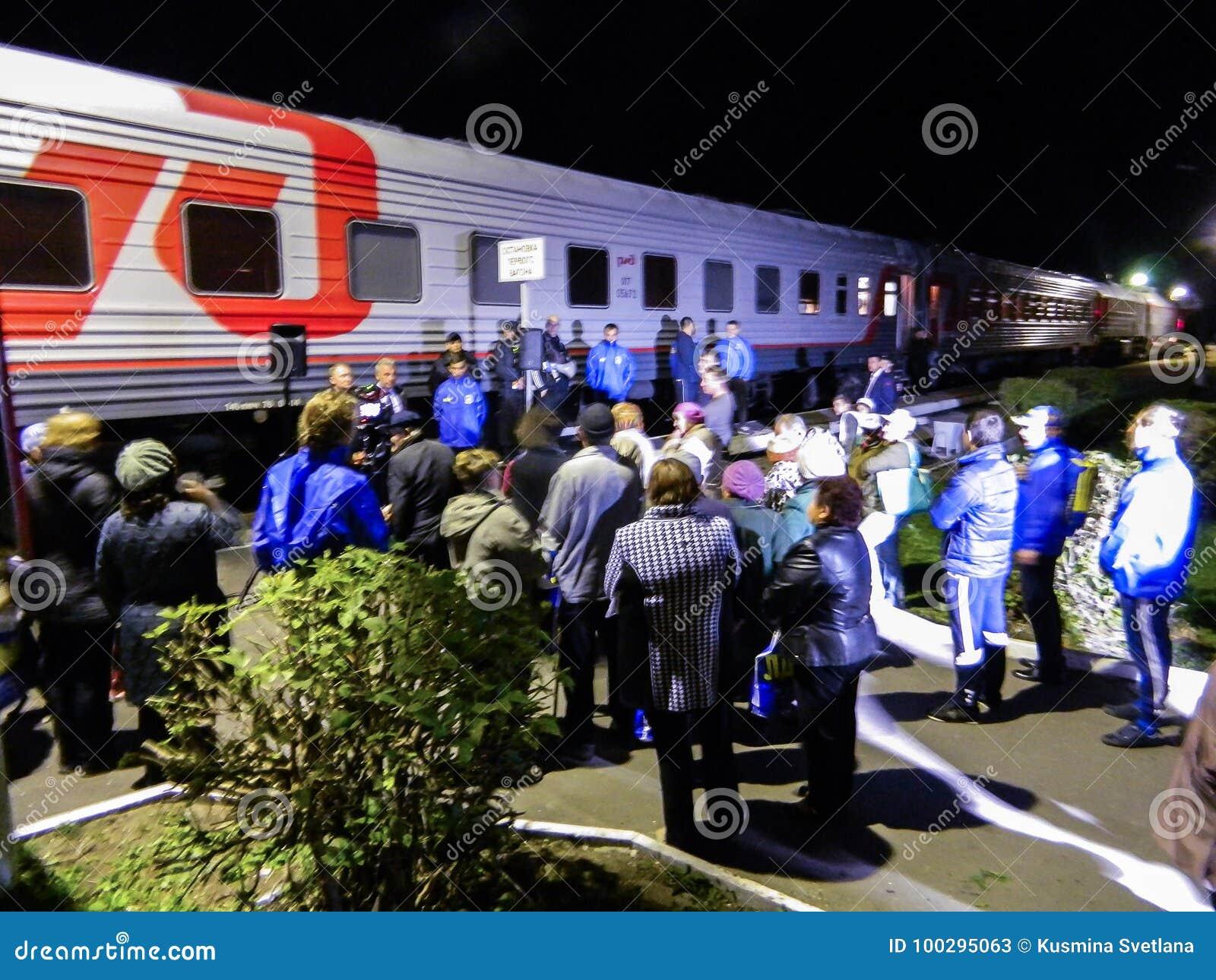 Przyjazd kampania pociąg Rosyjska partia liberalno-demokratyczna