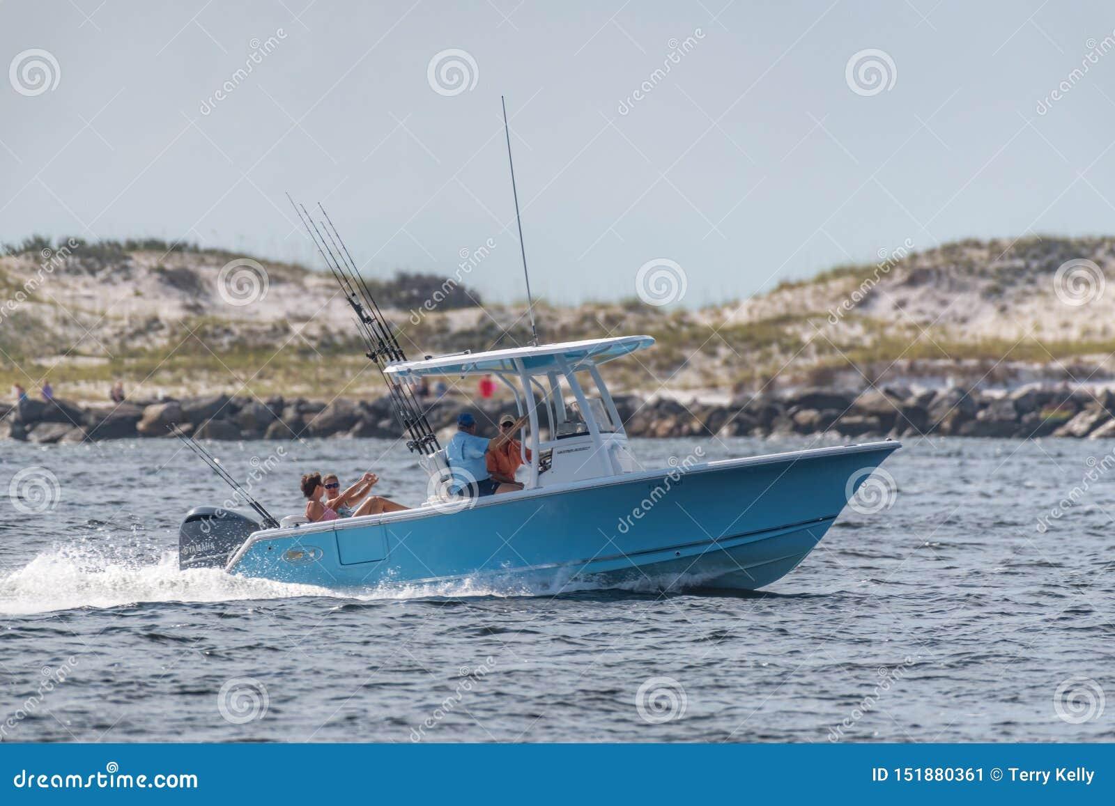 Przyjemności łodzi połów