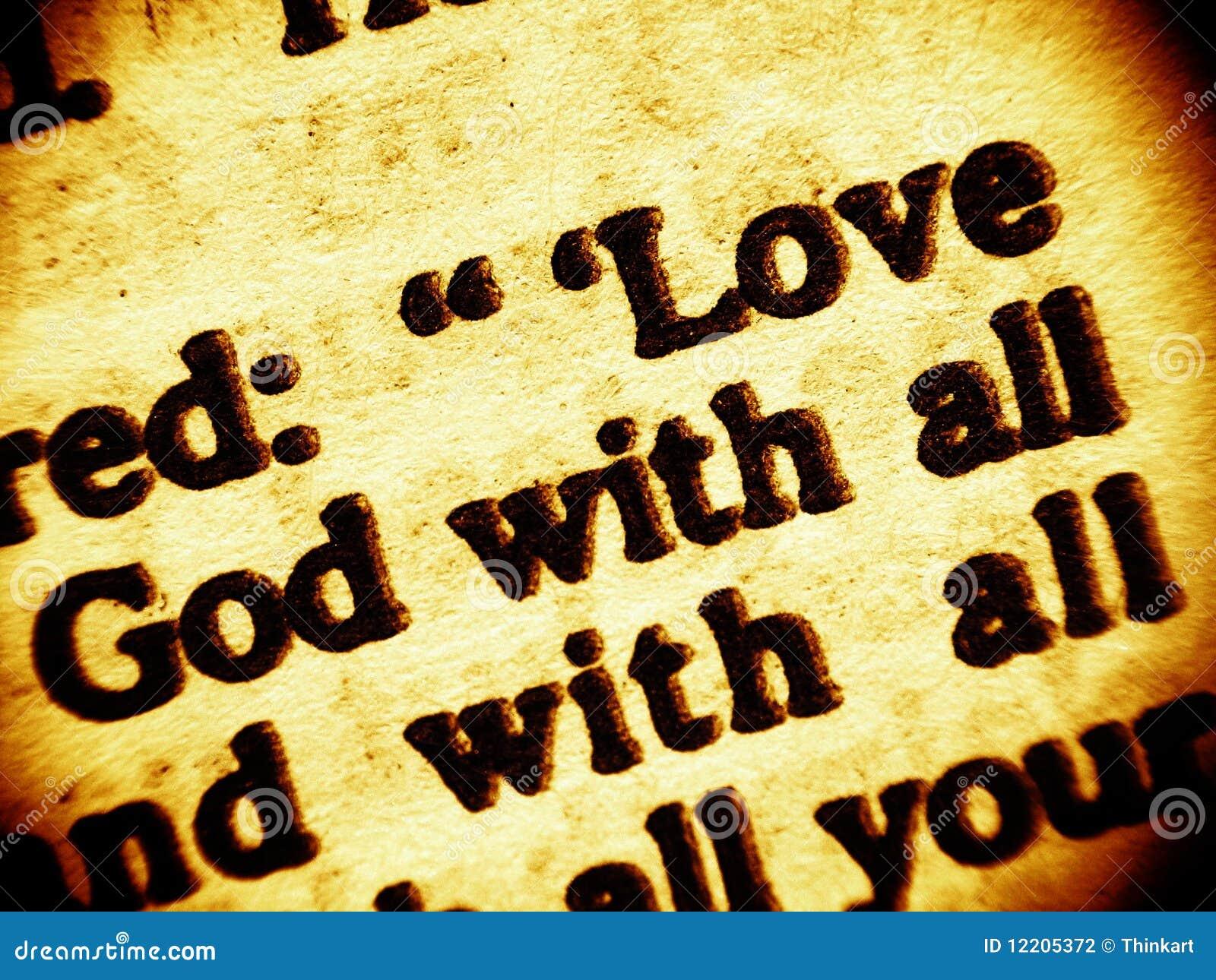 Przykazania bóg wysoka miłość