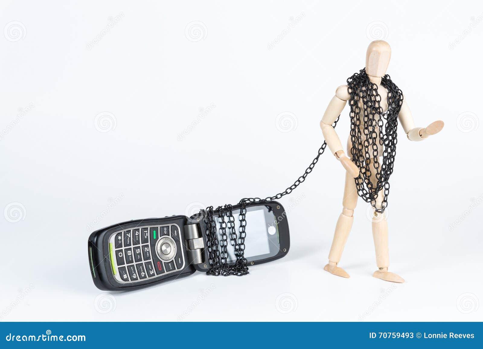 Przykuwający telefon