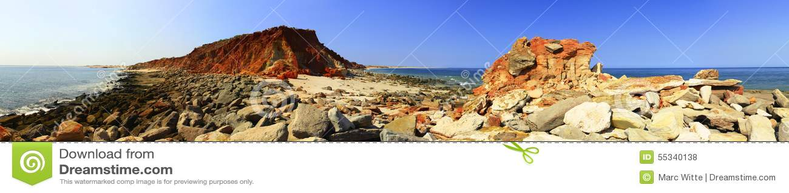 Przylądek Leveque blisko Broome, zachodnia australia