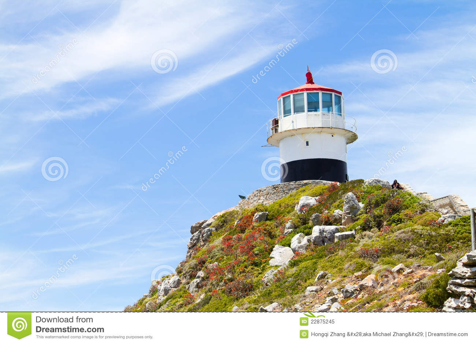 Przylądka latarni morskiej punkt