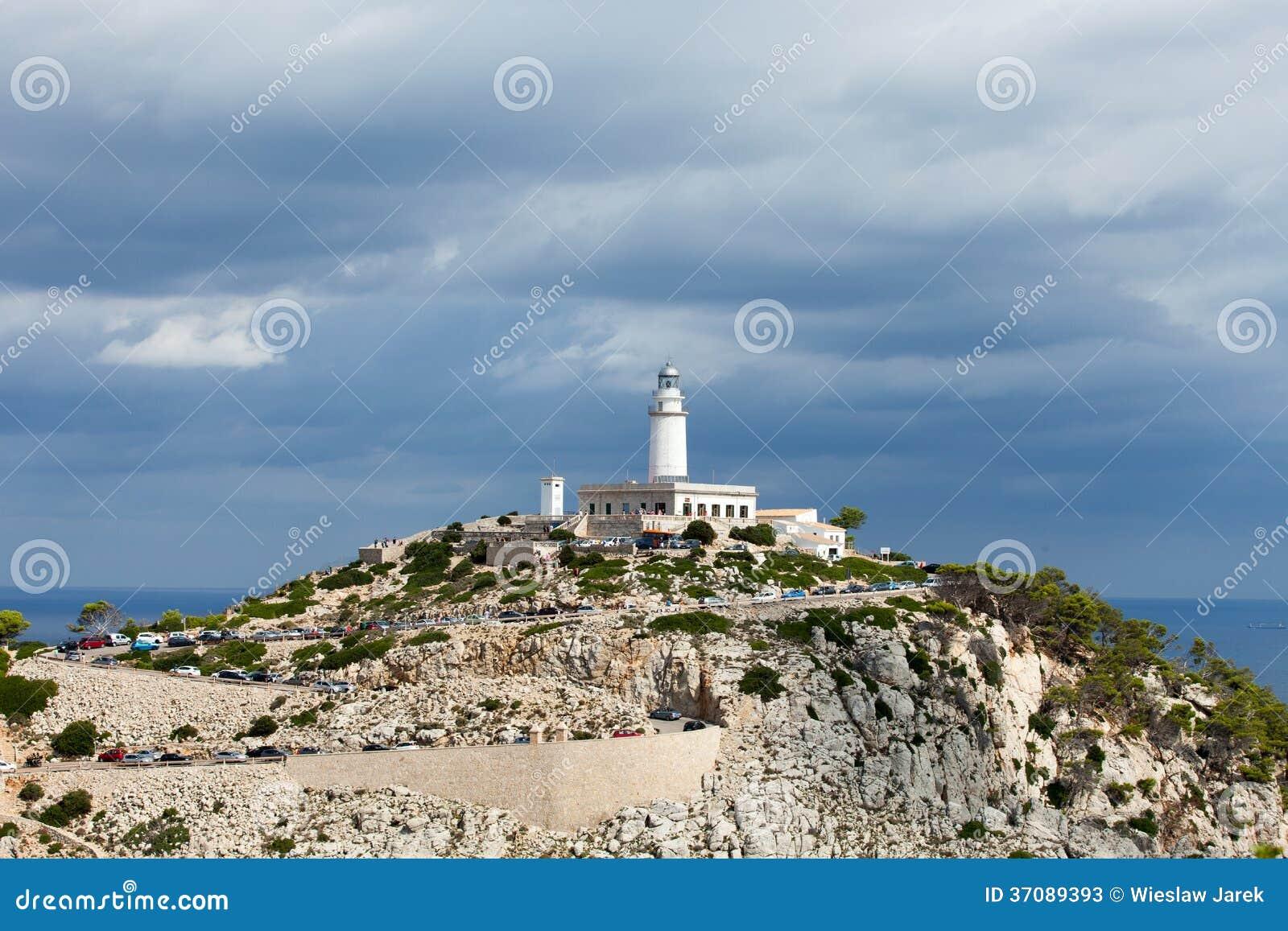 Download Przylądek Formentor Na Majorca Obraz Stock - Obraz złożonej z faleza, chmury: 37089393