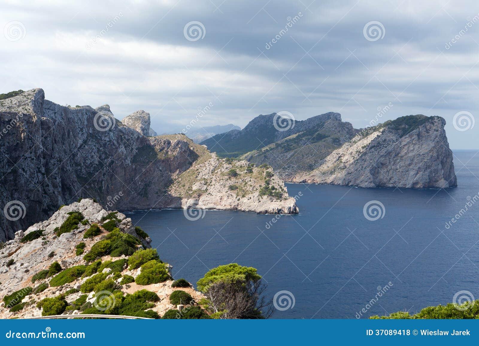Download Przylądek Formentor Na Majorca Zdjęcie Stock - Obraz złożonej z wybrzeże, przylądek: 37089418