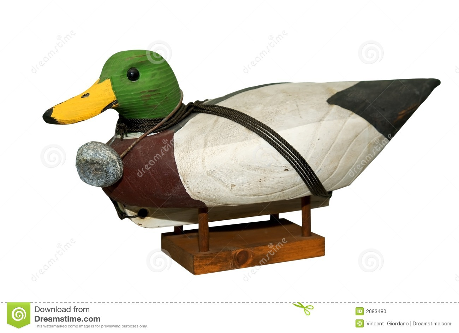 Przynęta wycięte kaczki kaczor mallard ręce