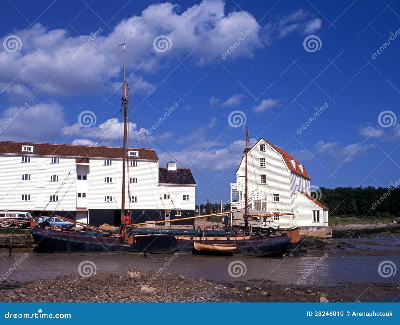 Przypływu młyn, Woodbridge, Suffolk.