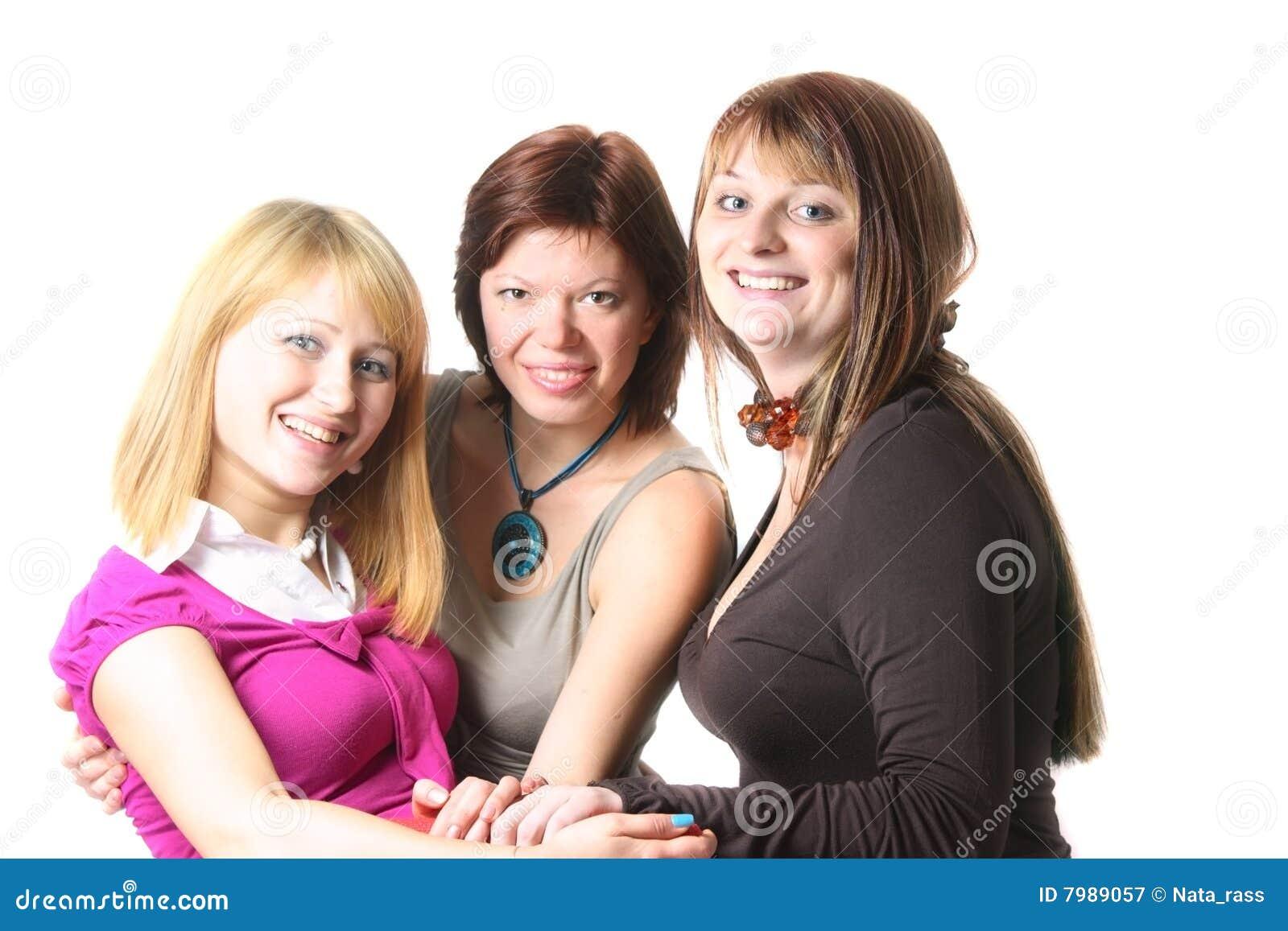 Przypadkowa trzy kobiety Yong