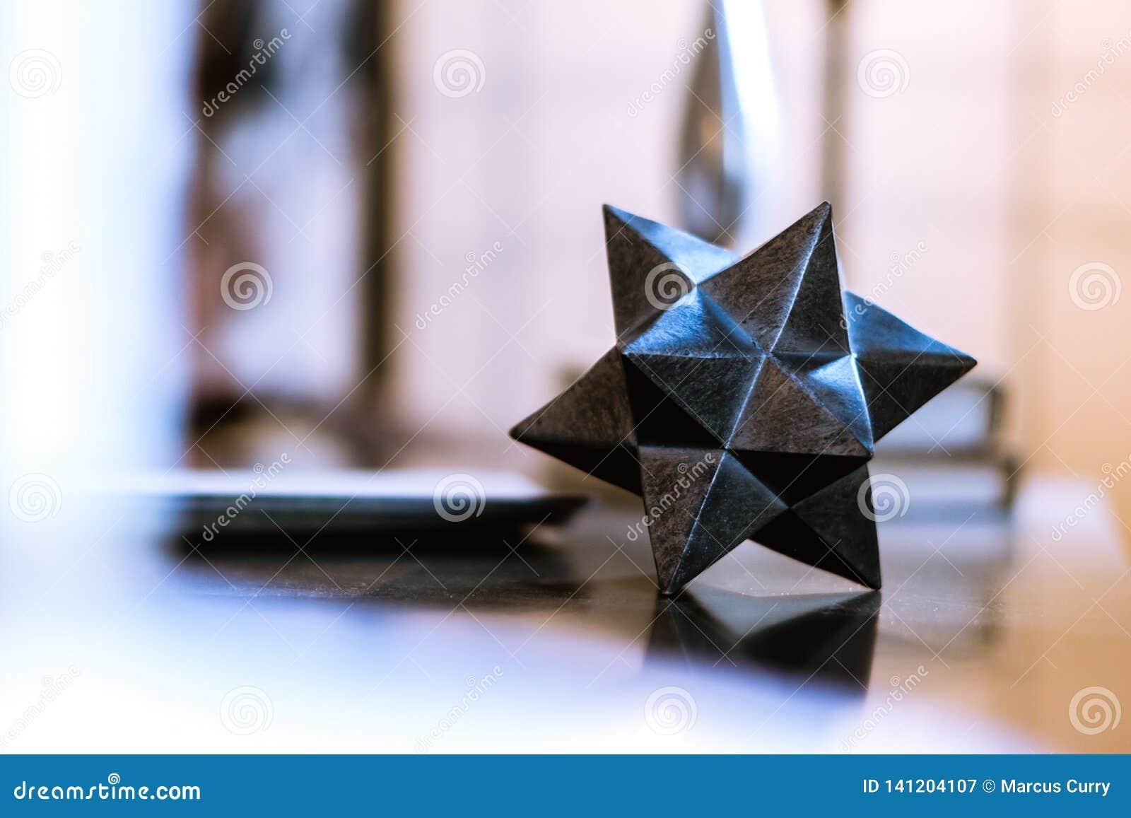Przypadkowy Abstrakcjonistyczny Geometrical przedmiot