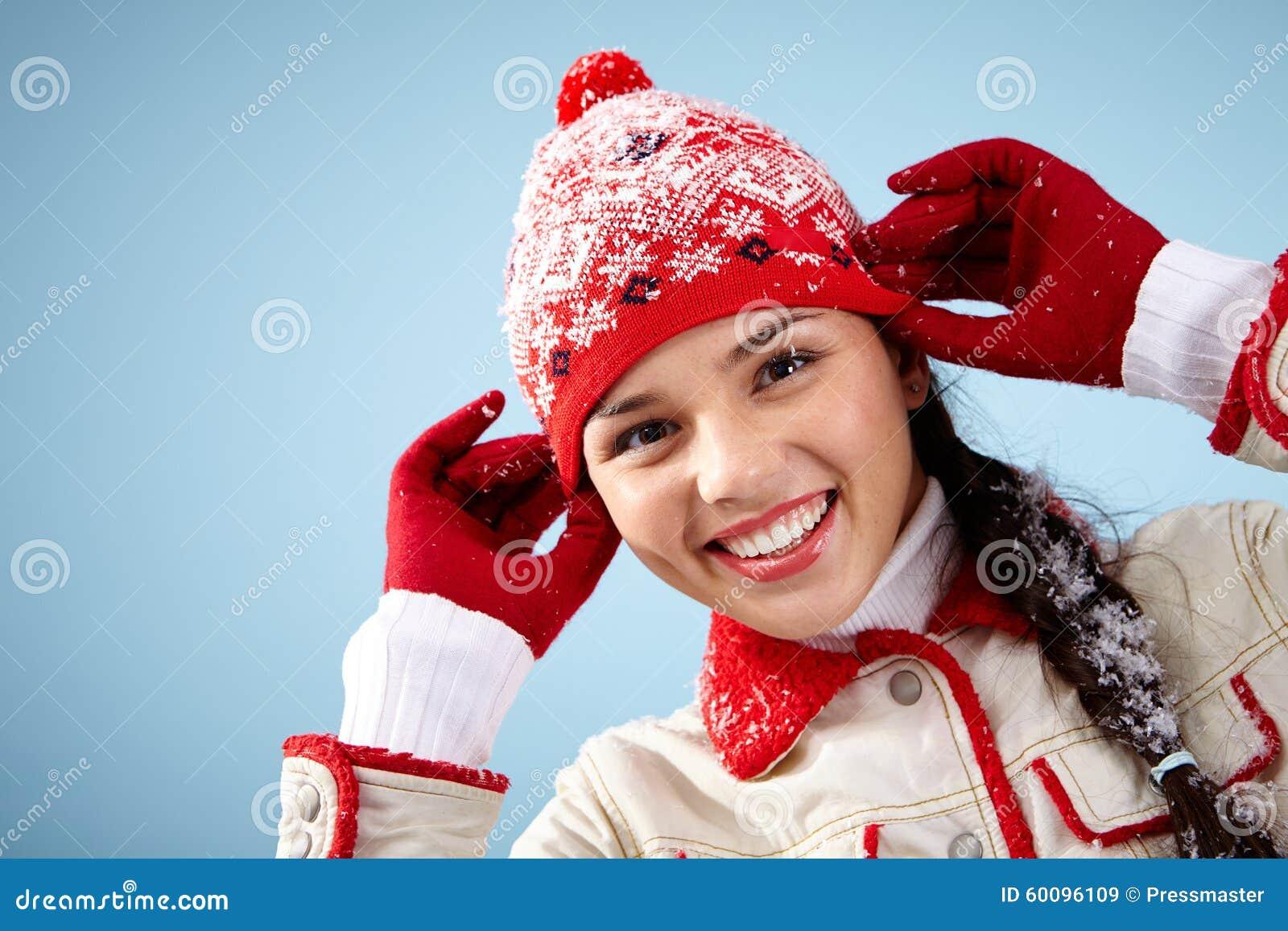 Przypadkowy zima styl