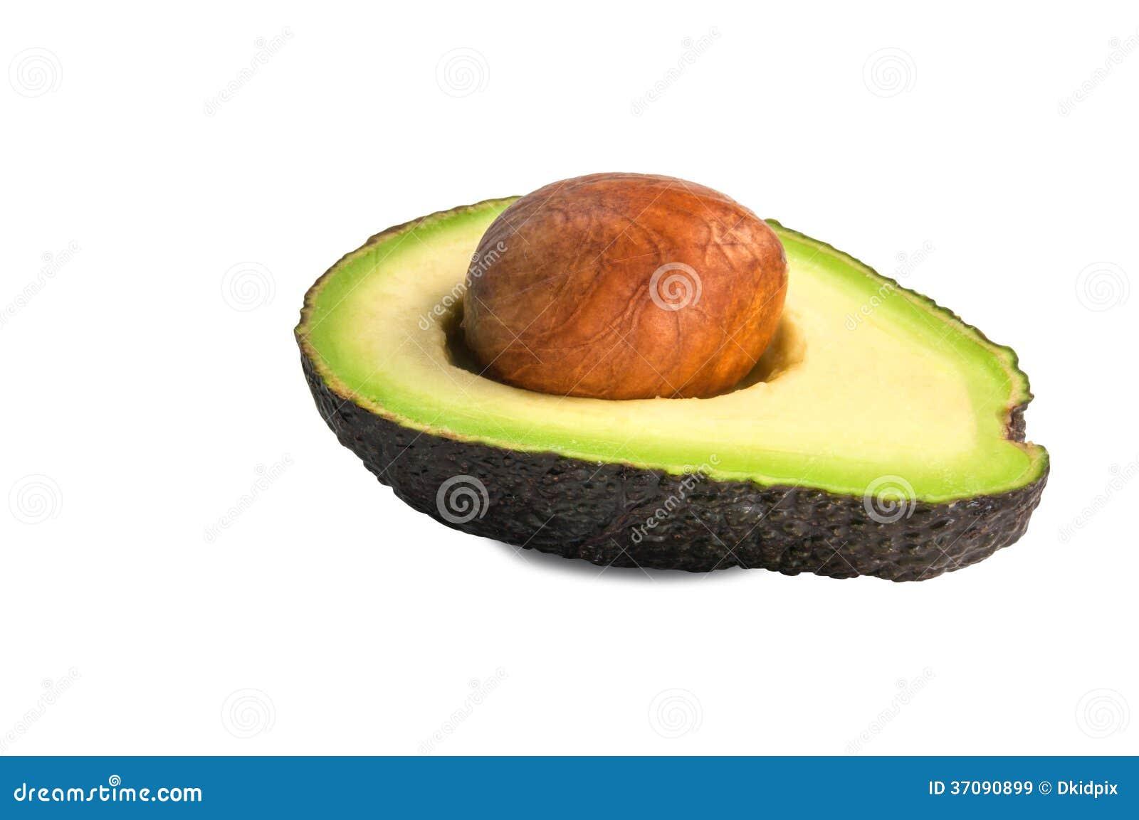 Download Przyrodni avocado obraz stock. Obraz złożonej z odosobniony - 37090899