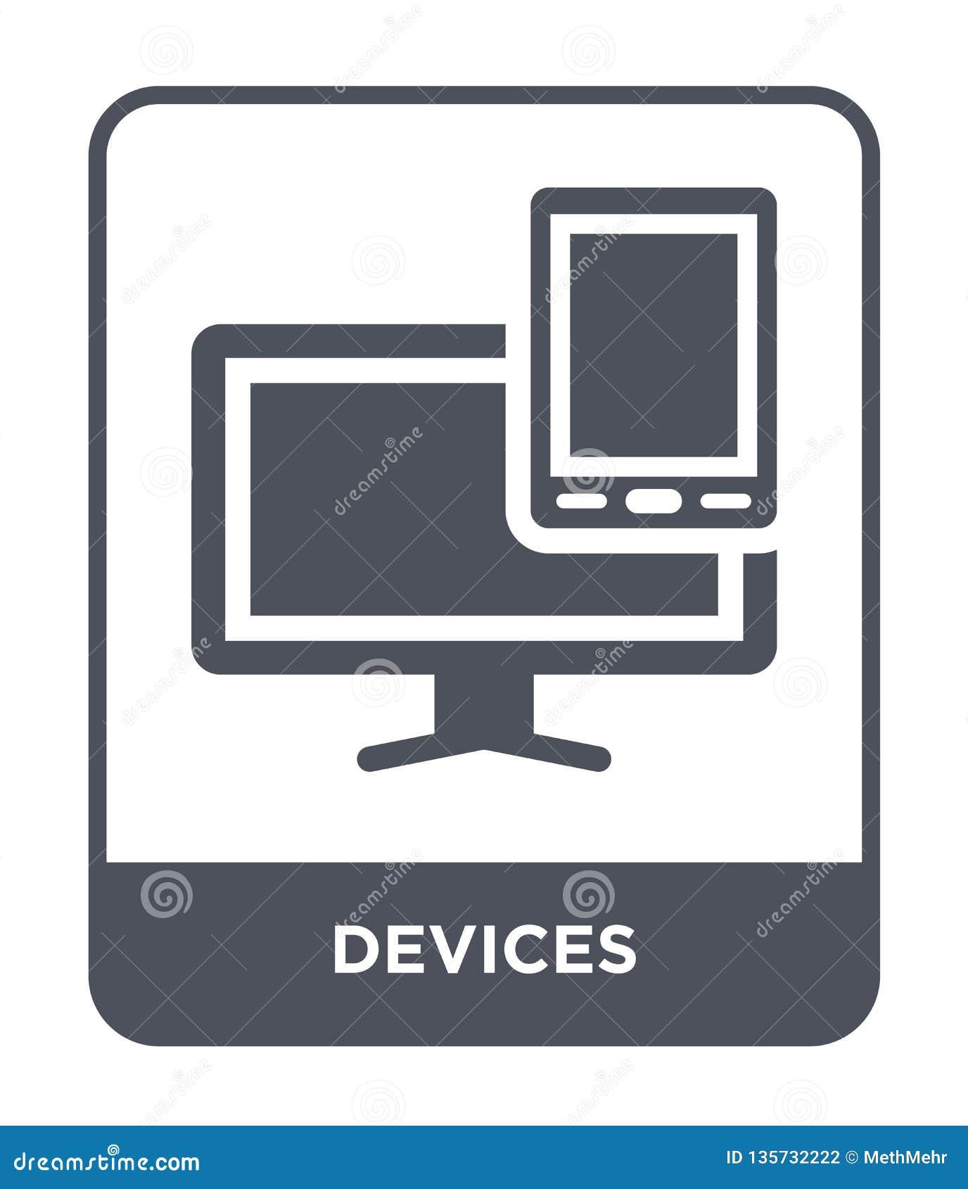 Przyrząd ikona w modnym projekta stylu Przyrząd ikona odizolowywająca na białym tle przyrząd wektorowej ikony prosty i nowożytny