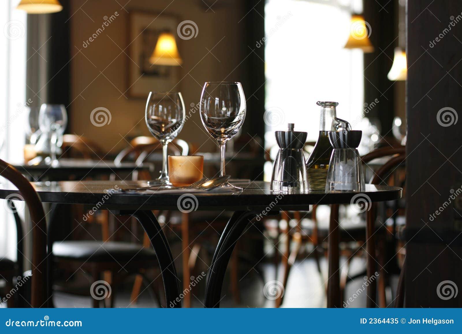 Przytulna Restauracja Obraz Stock Obraz Złożonej Z Krzesło