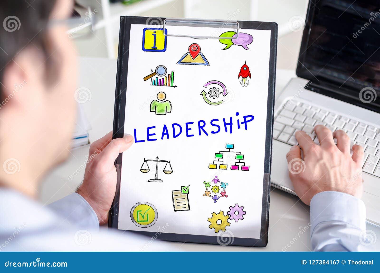 Przywódctwo pojęcie na schowku