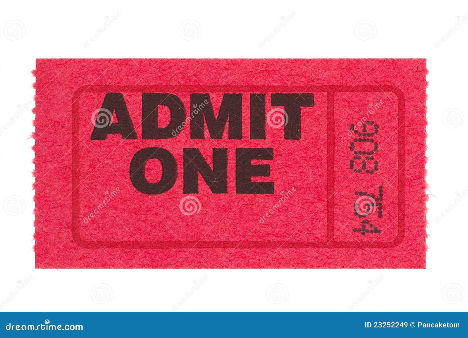 Przyznaje czerwień jeden bilet