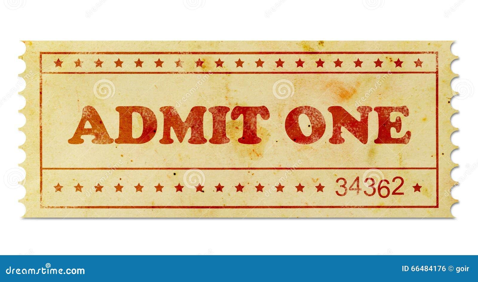 Przyznaje jeden rocznika bilet
