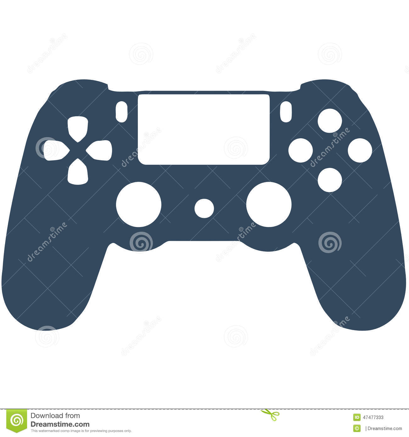 ps4 game controller stock illustration image 47477333 weasel face clipart Shark Clip Art