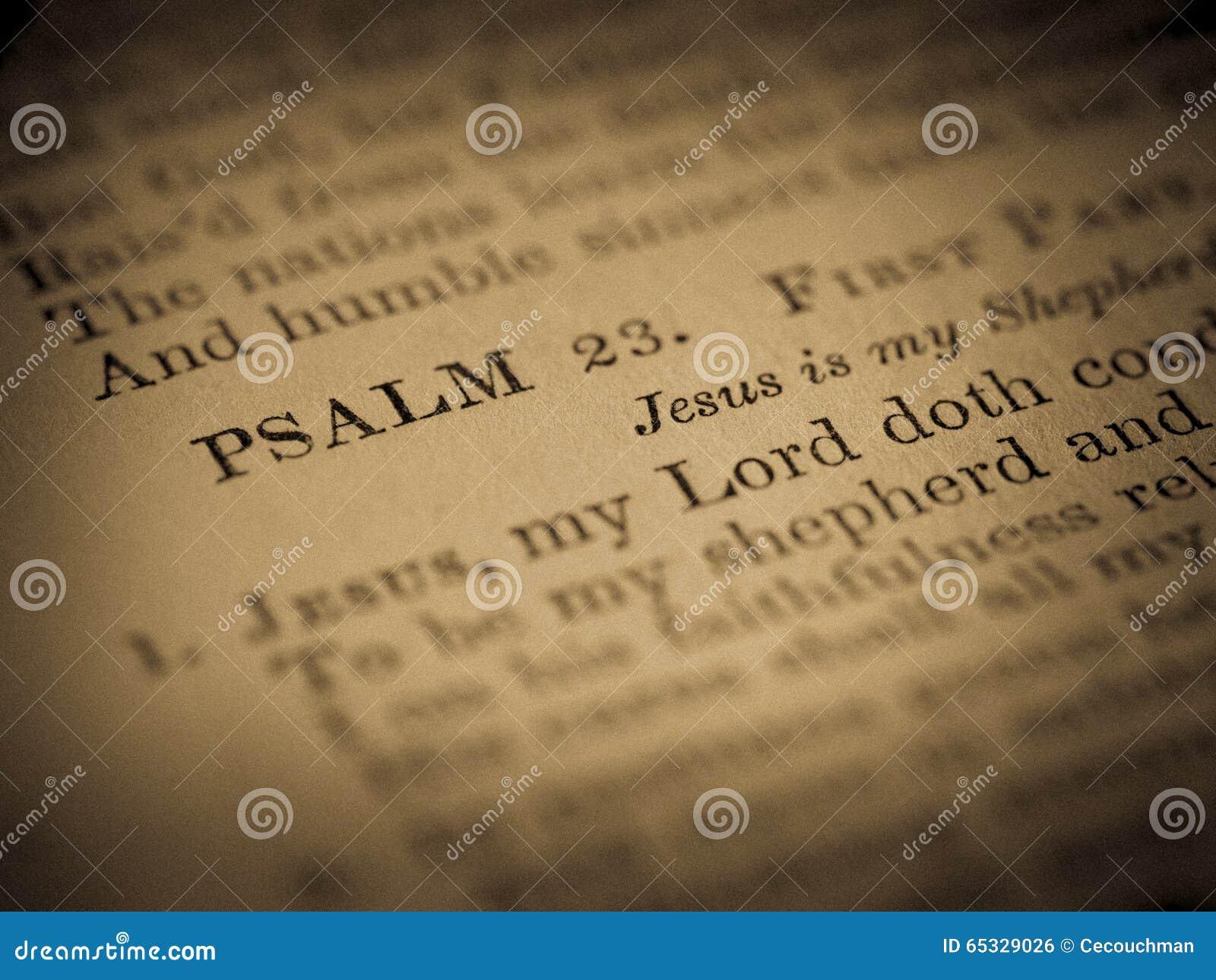 psalm 23 hymn