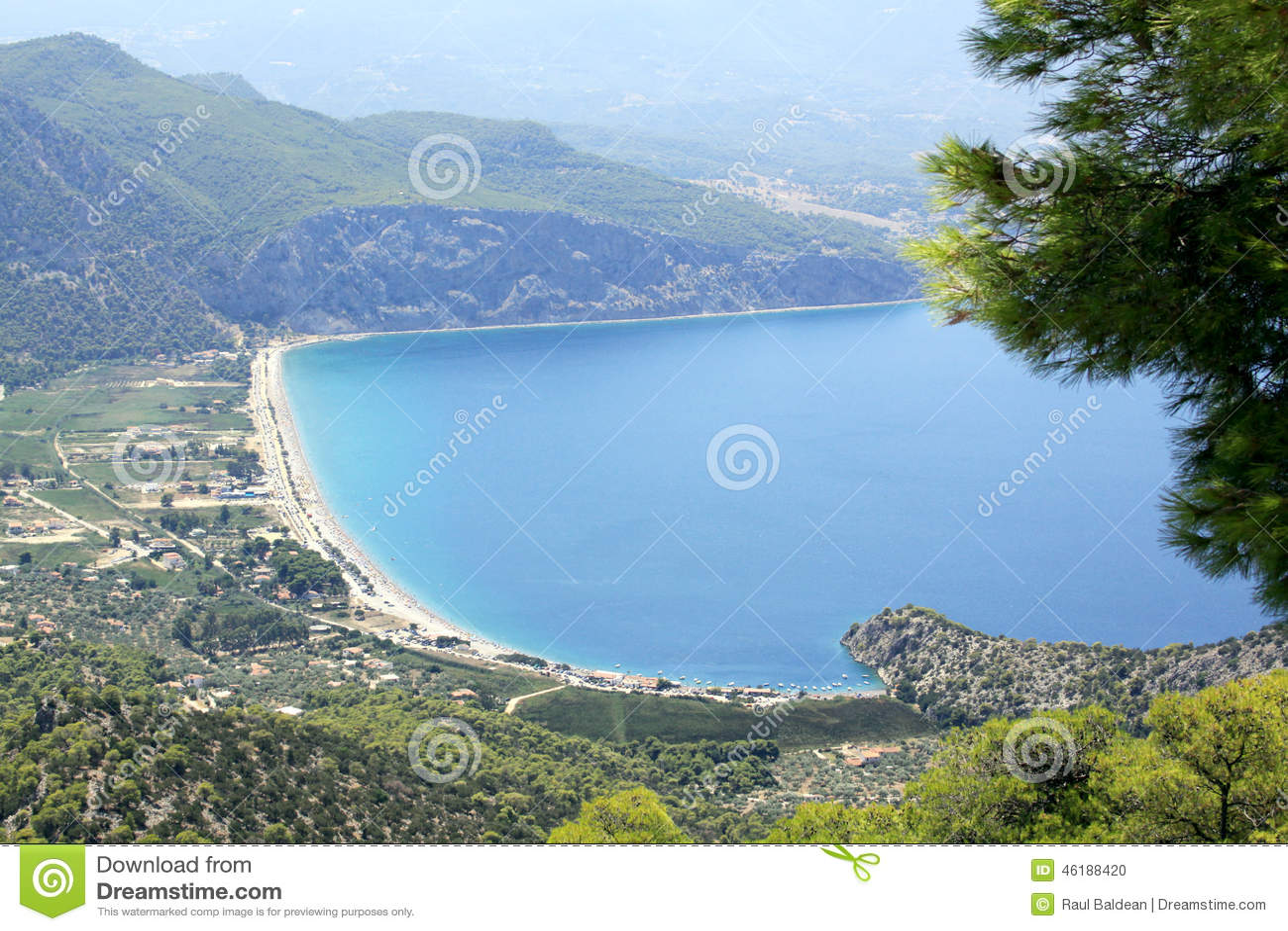 Psatha beach, Athens, Greece