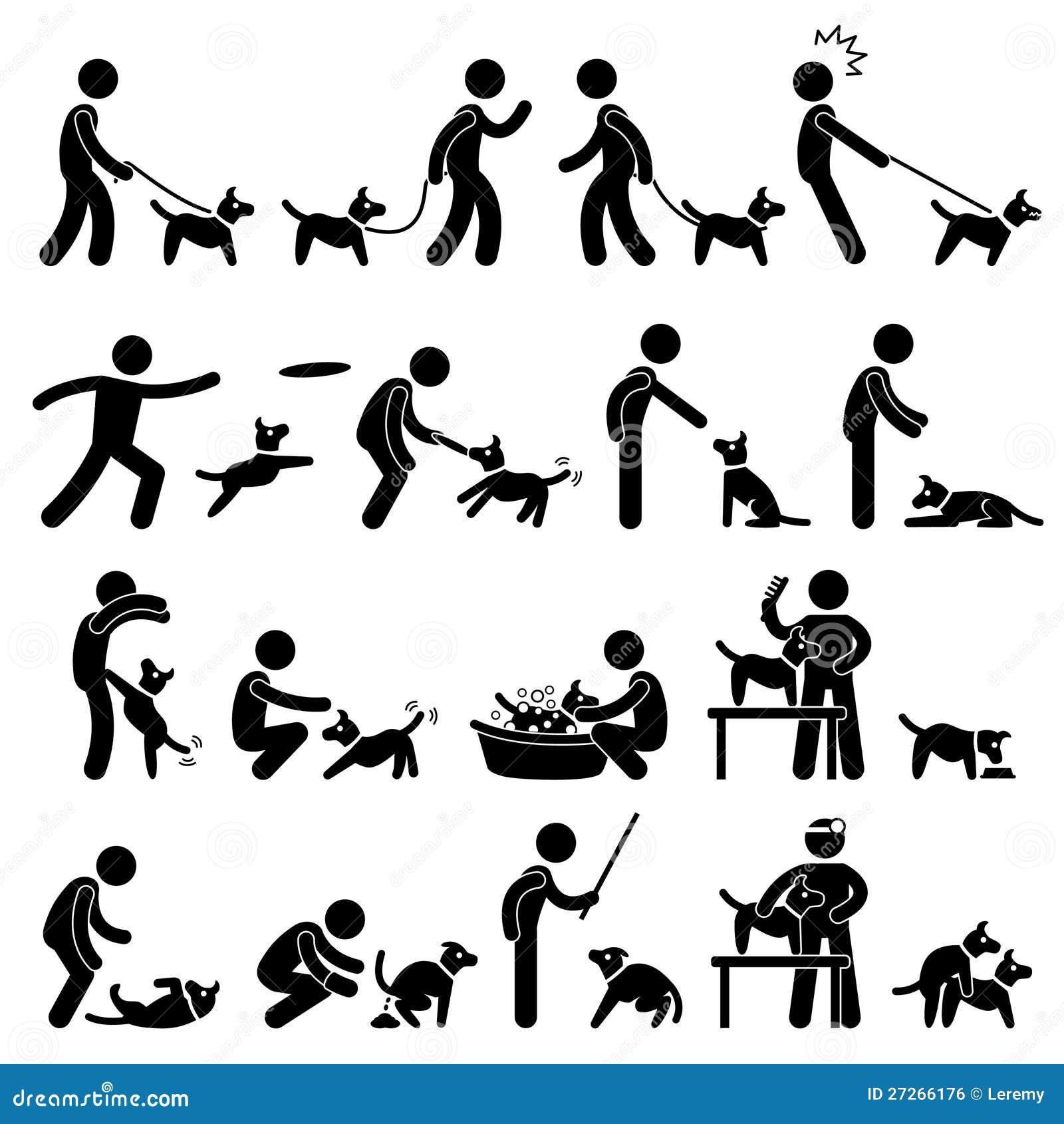 Psi Stażowy Piktogram