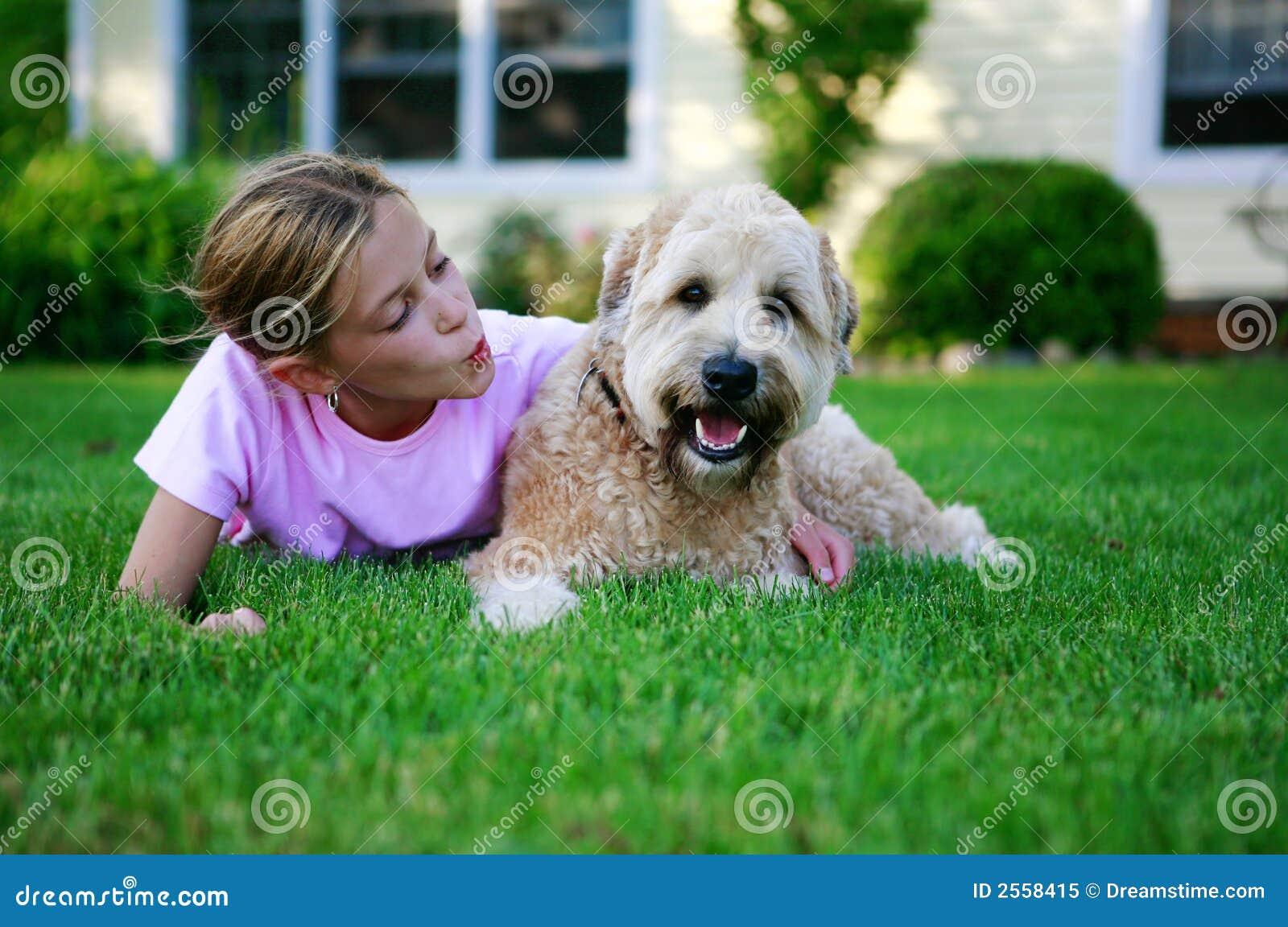 Psi szczęśliwy
