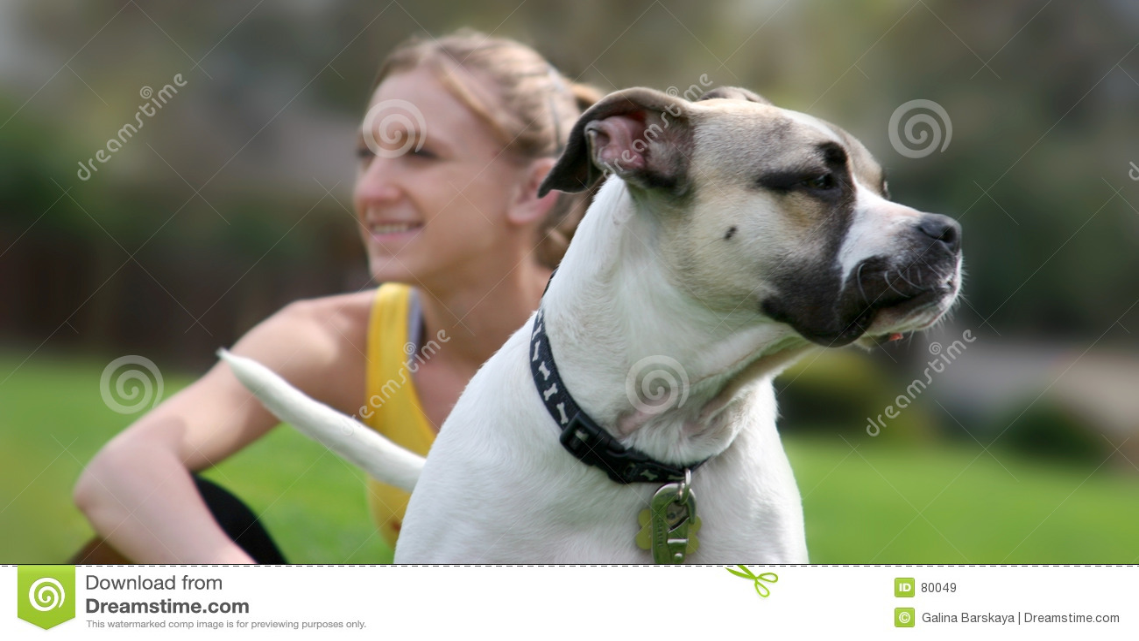 Psia jego dziewczyna