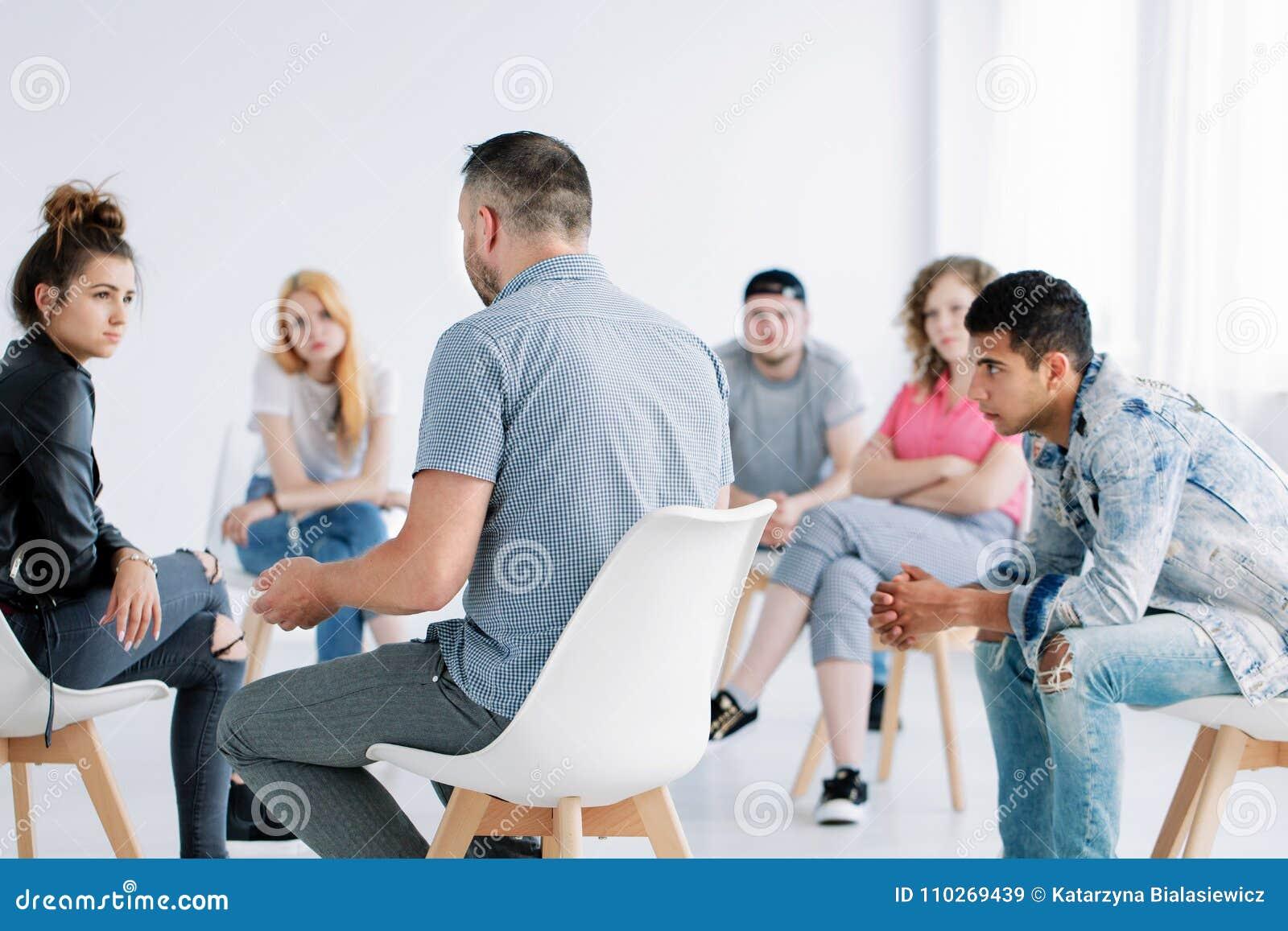 Psicoterapia do grupo para adolescentes