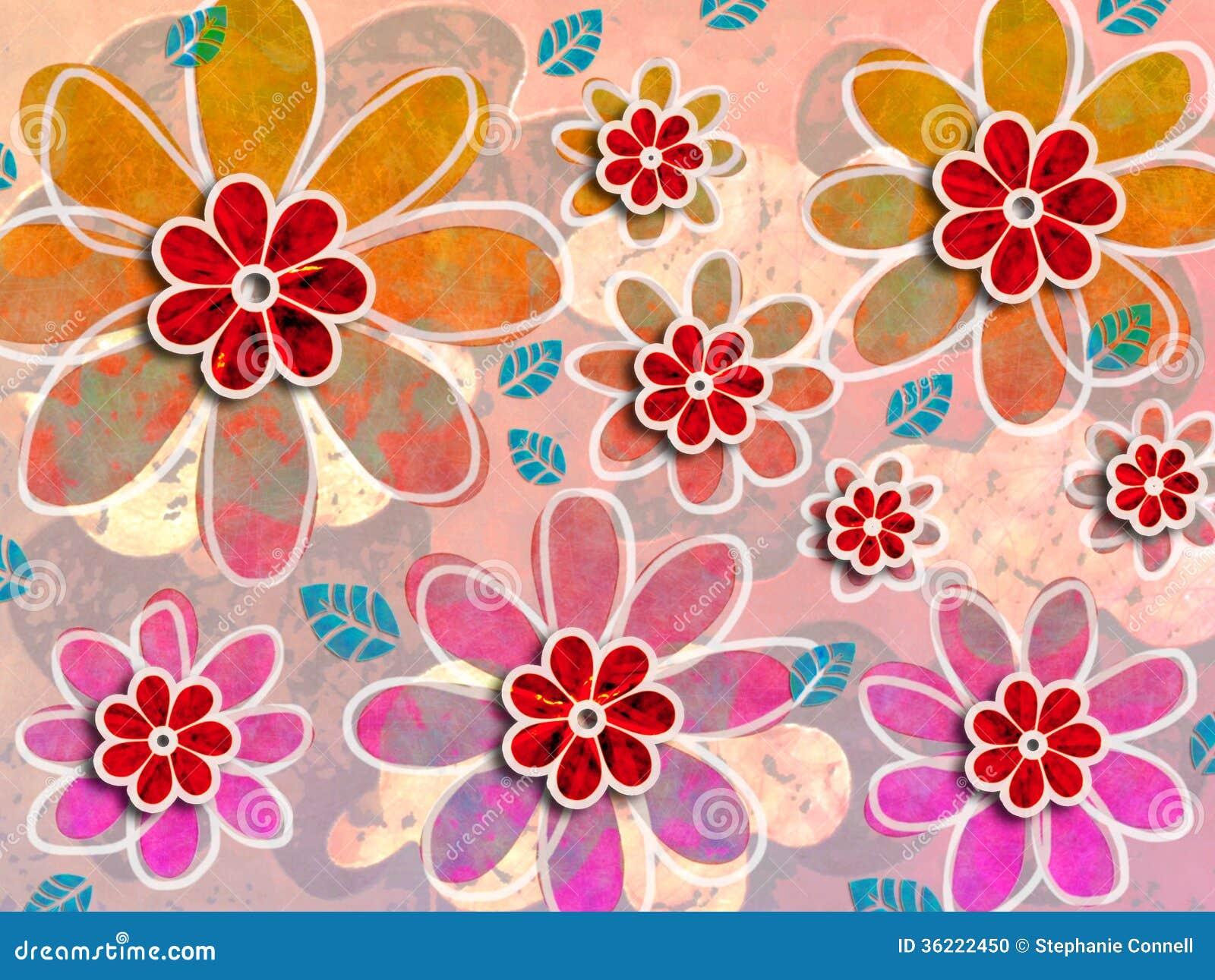 Psychedelic Flower Art...