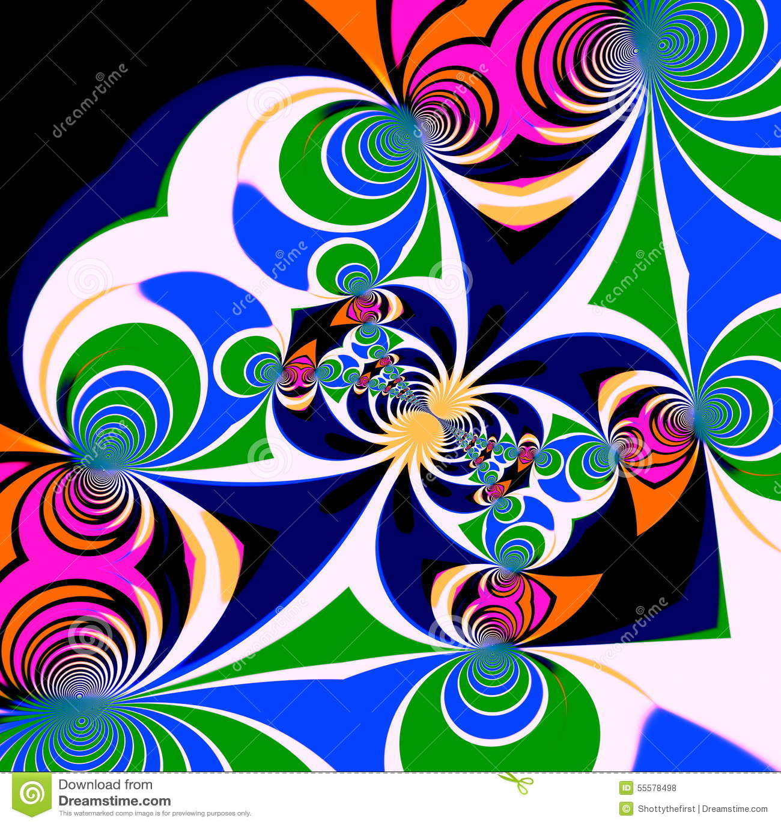 Symmetrical Designs In Art Images