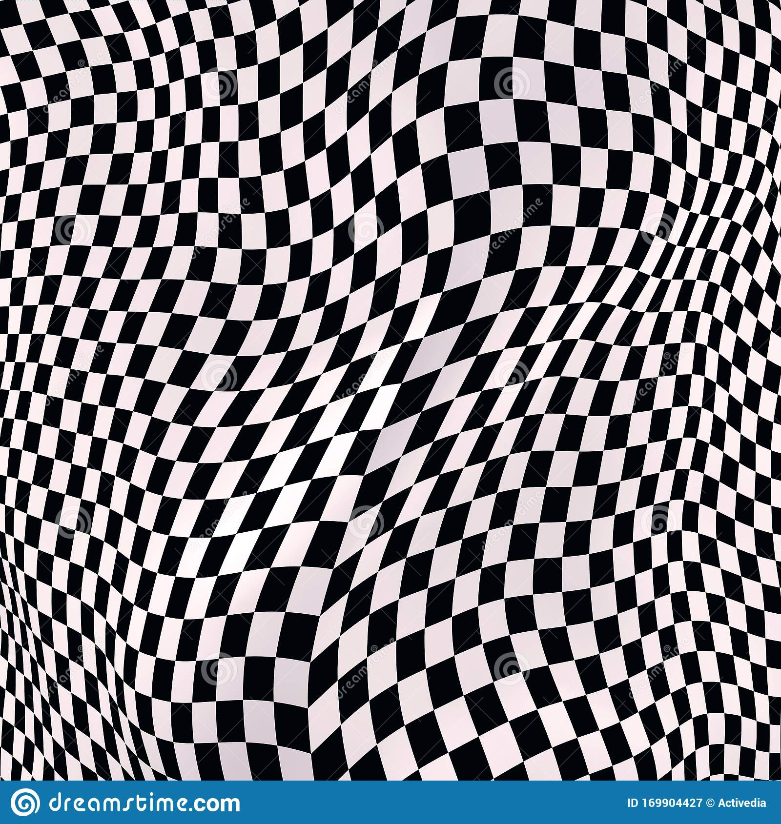 Psychedelic Trippy Optical Illusions 03 Stock Illustration