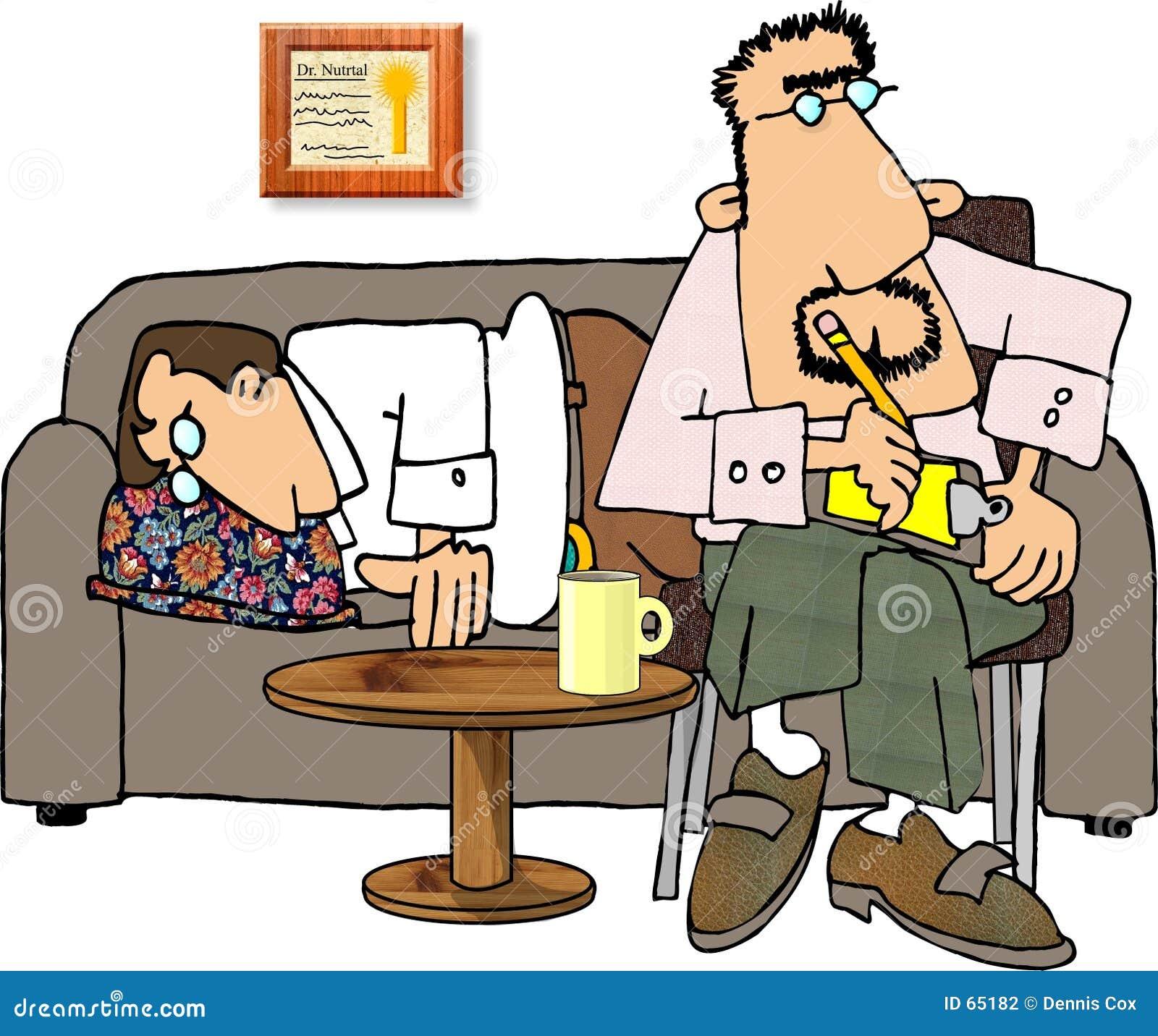 Download Psychiatrie illustration stock. Illustration du hommes, patient - 65182