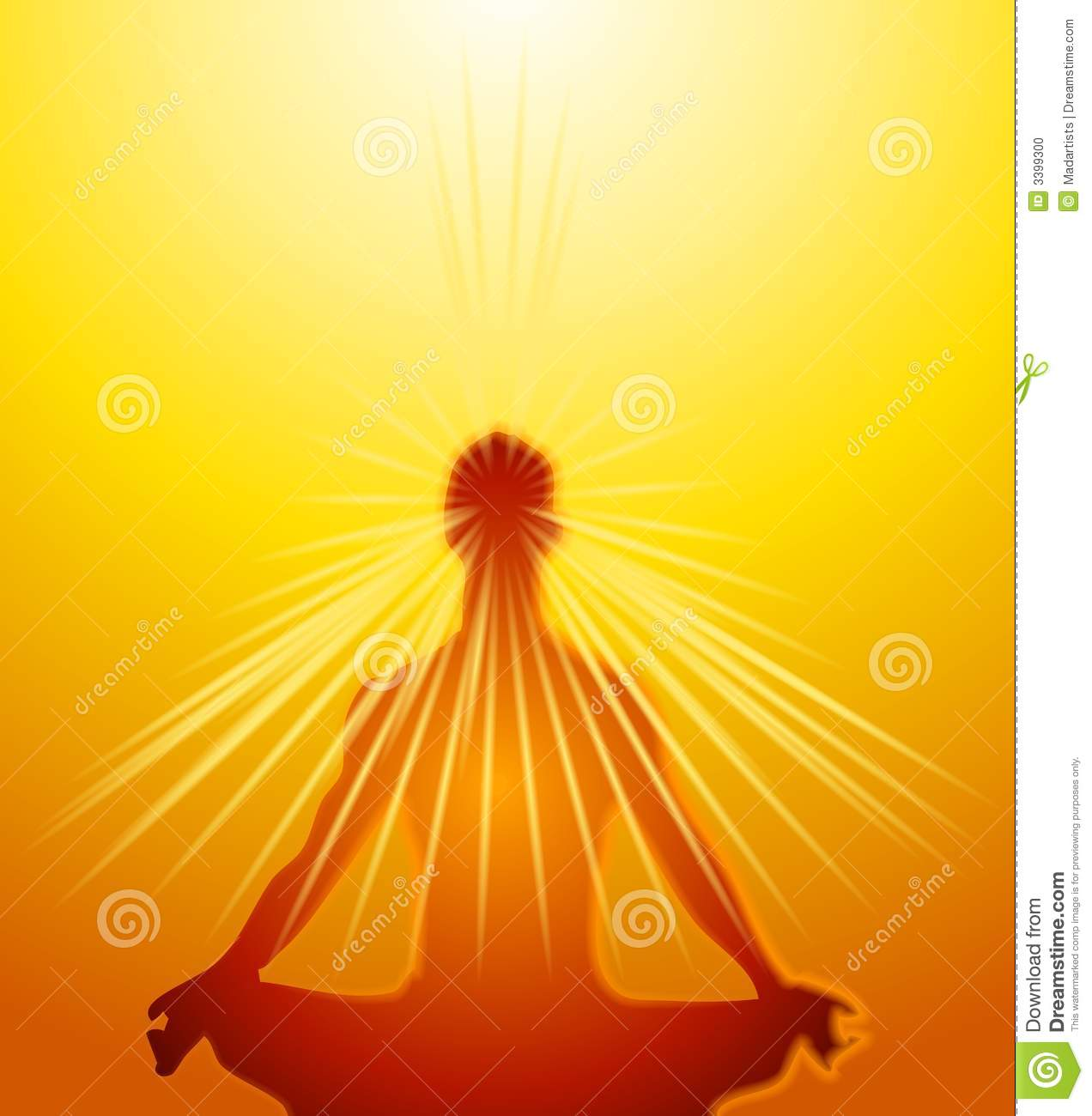 Psychic Mind Powers Meditation Stock Photo  Image: 3399300