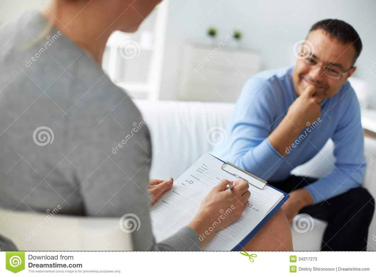 Psychological counsel stock image. Image of profession ...