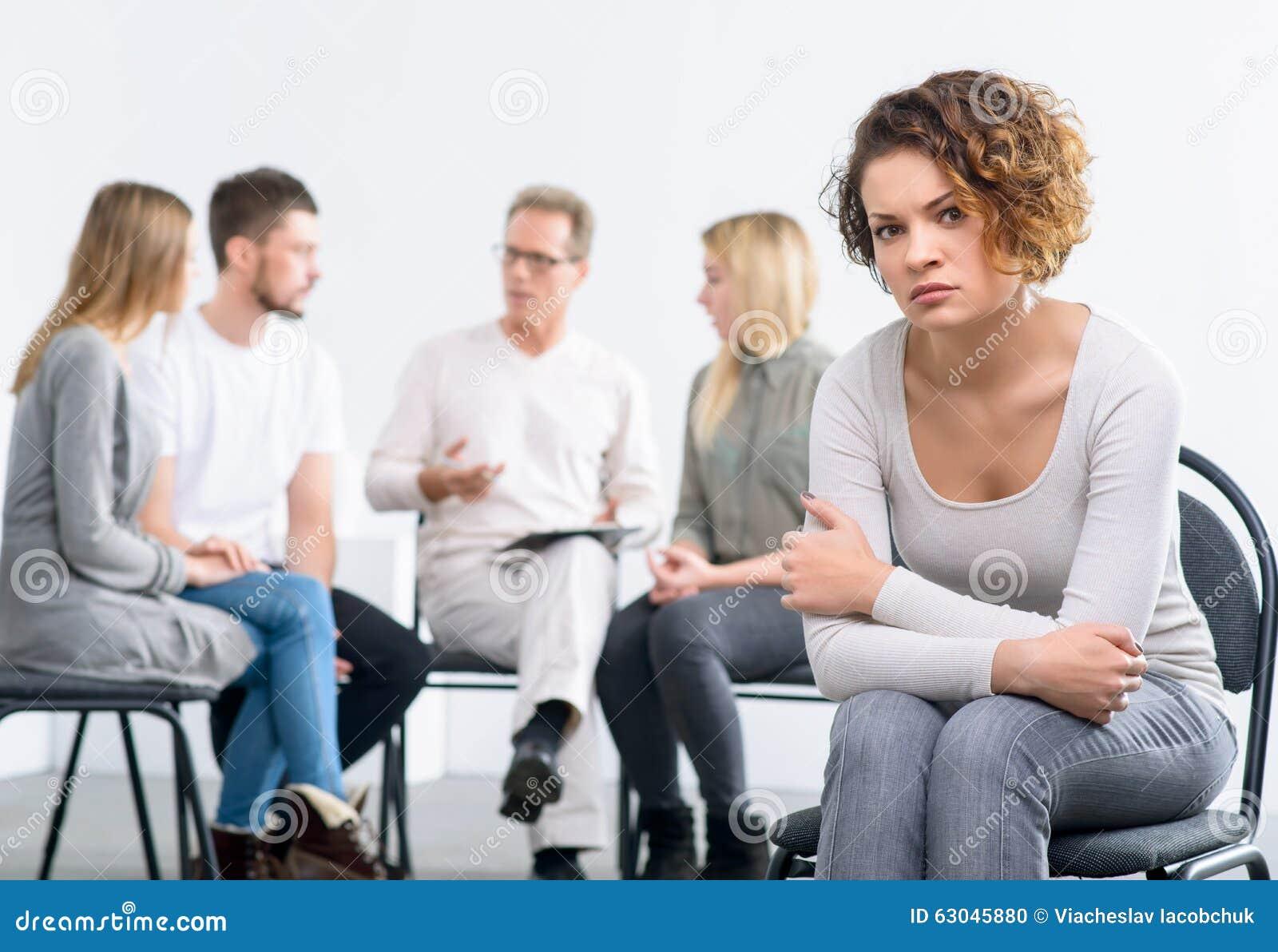 Psychologist Working W...