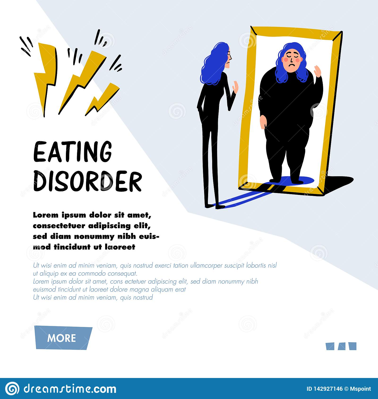 Eating Disorder Flat Stock Illustrations 157 Eating Disorder Flat Stock Illustrations Vectors Clipart Dreamstime