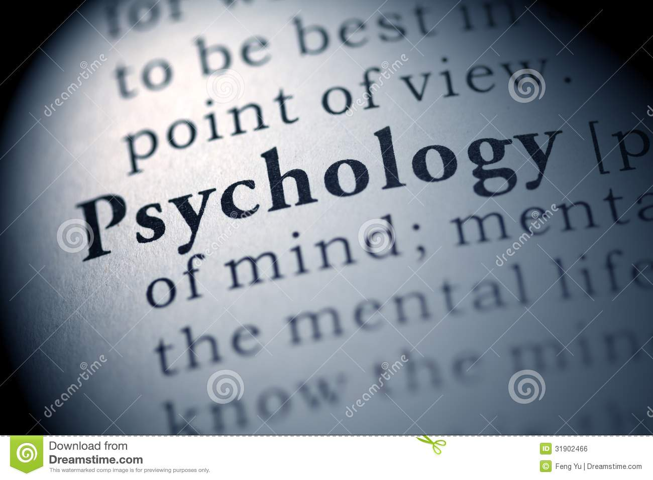 Fake Dictionary, Dictionary definition of the word Psychology.