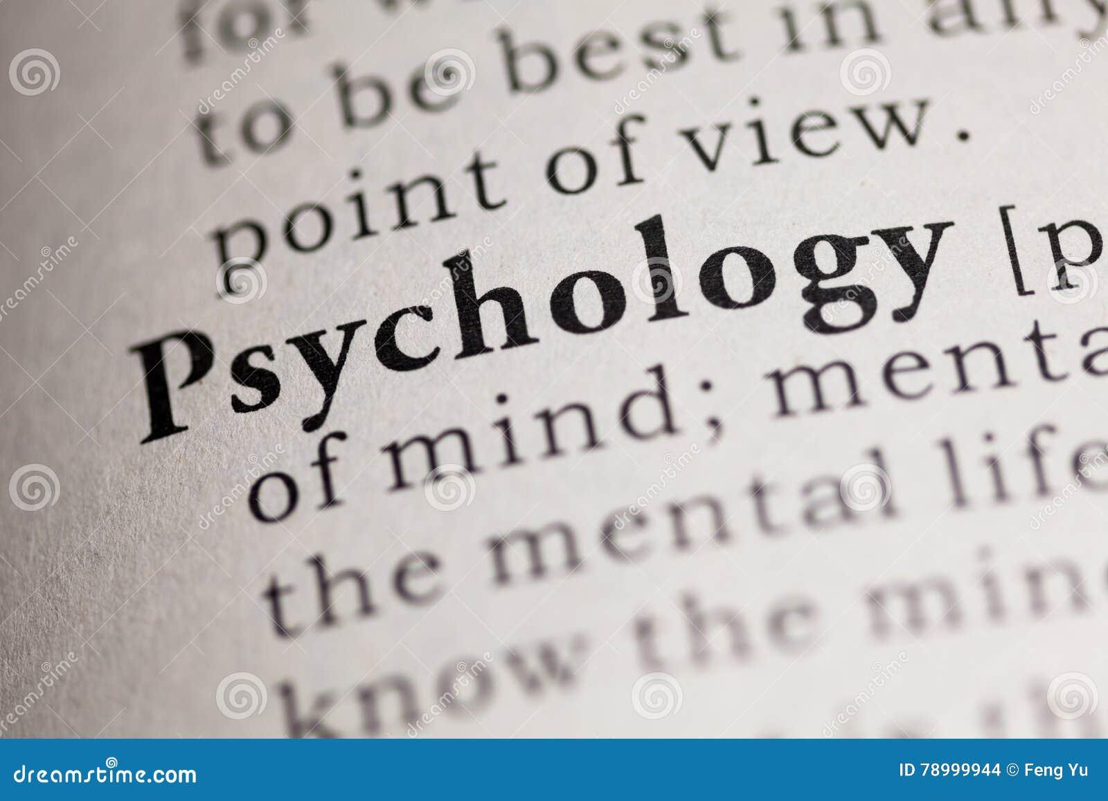 Psychology 201 vocabulary words