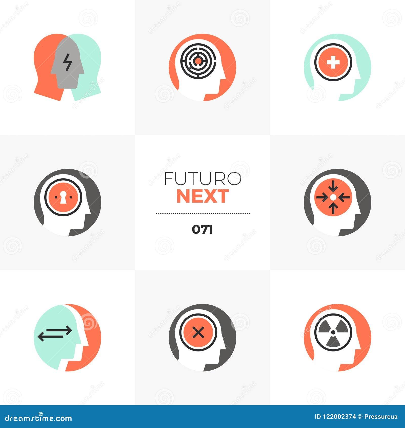 Psychology Futuro Next Icons
