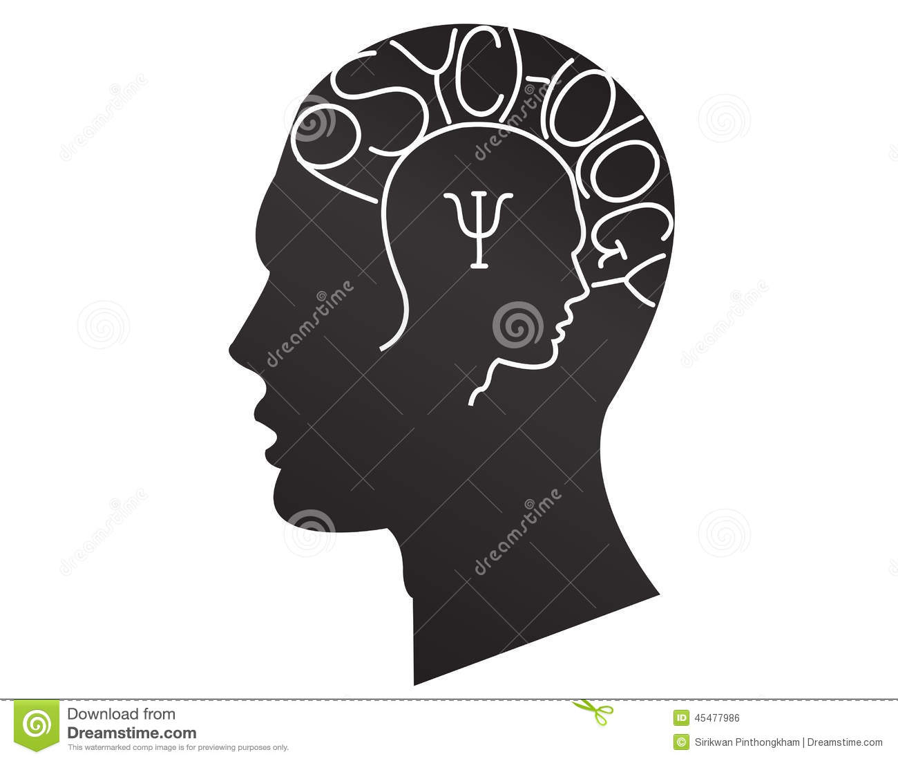 Psychology Stock Vector - Image: 45477986