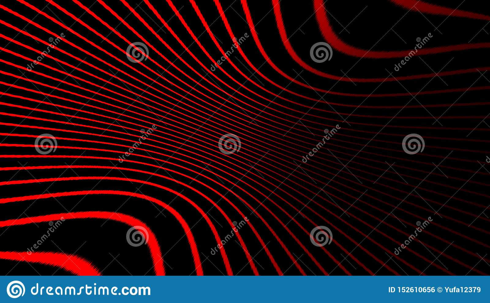 Psykedelisk konst f?r hypnoshalvton Grafisk moderiktig syntwavevirvelbakgrund vektor f?r bild f?r designelementillustration