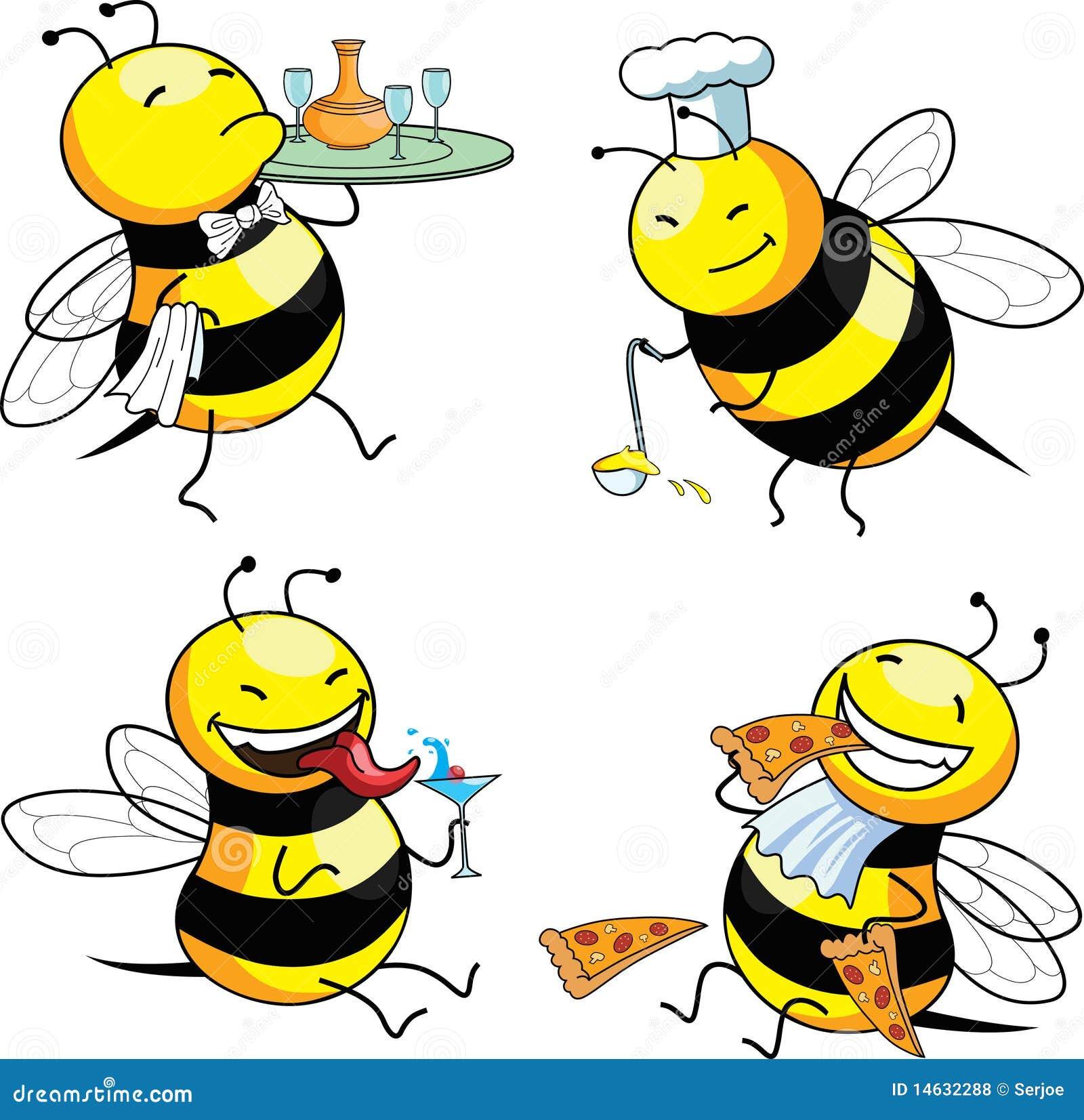 Pszczoły emocja cztery
