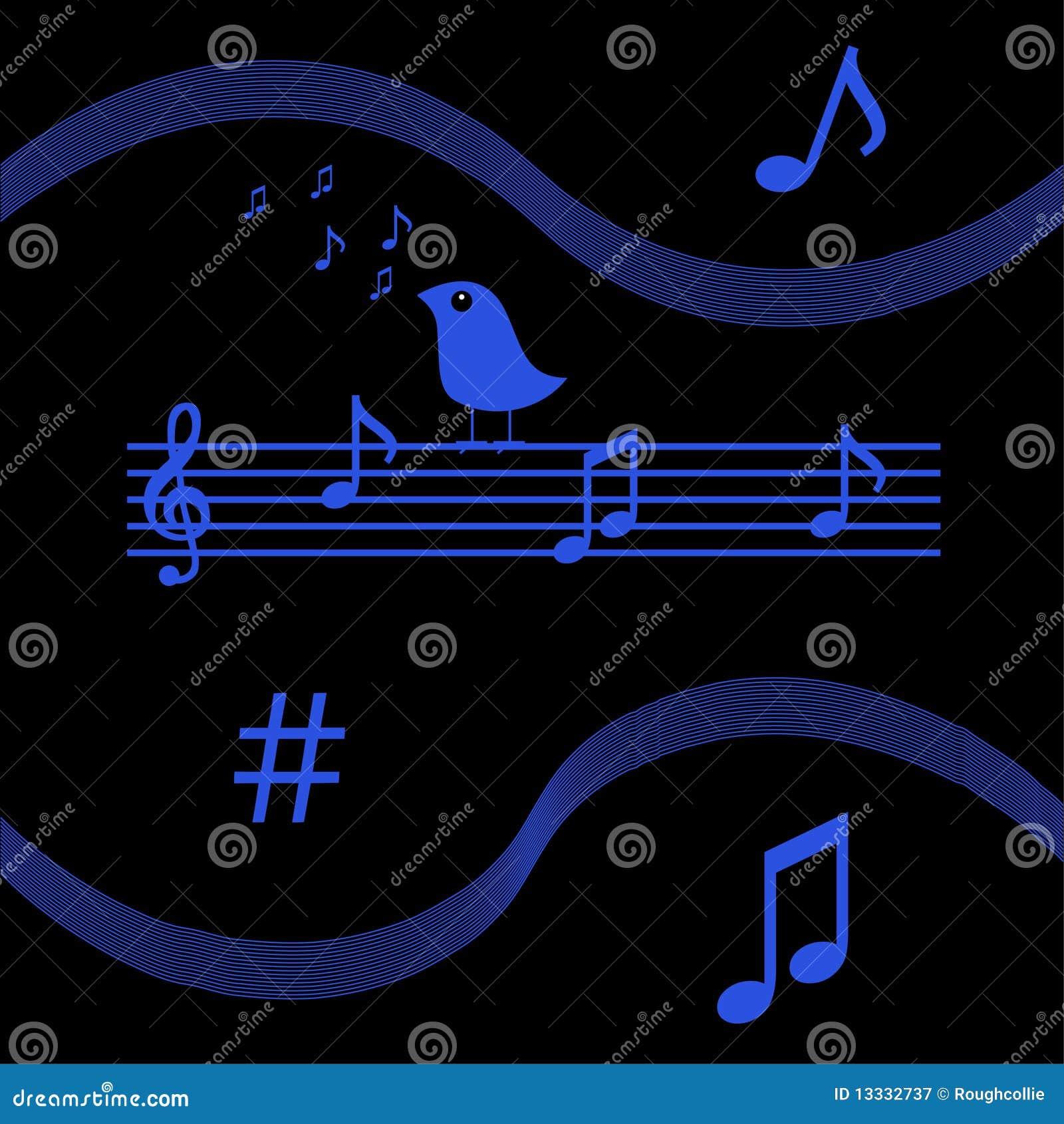 Ptasi musical zauważa śpiew