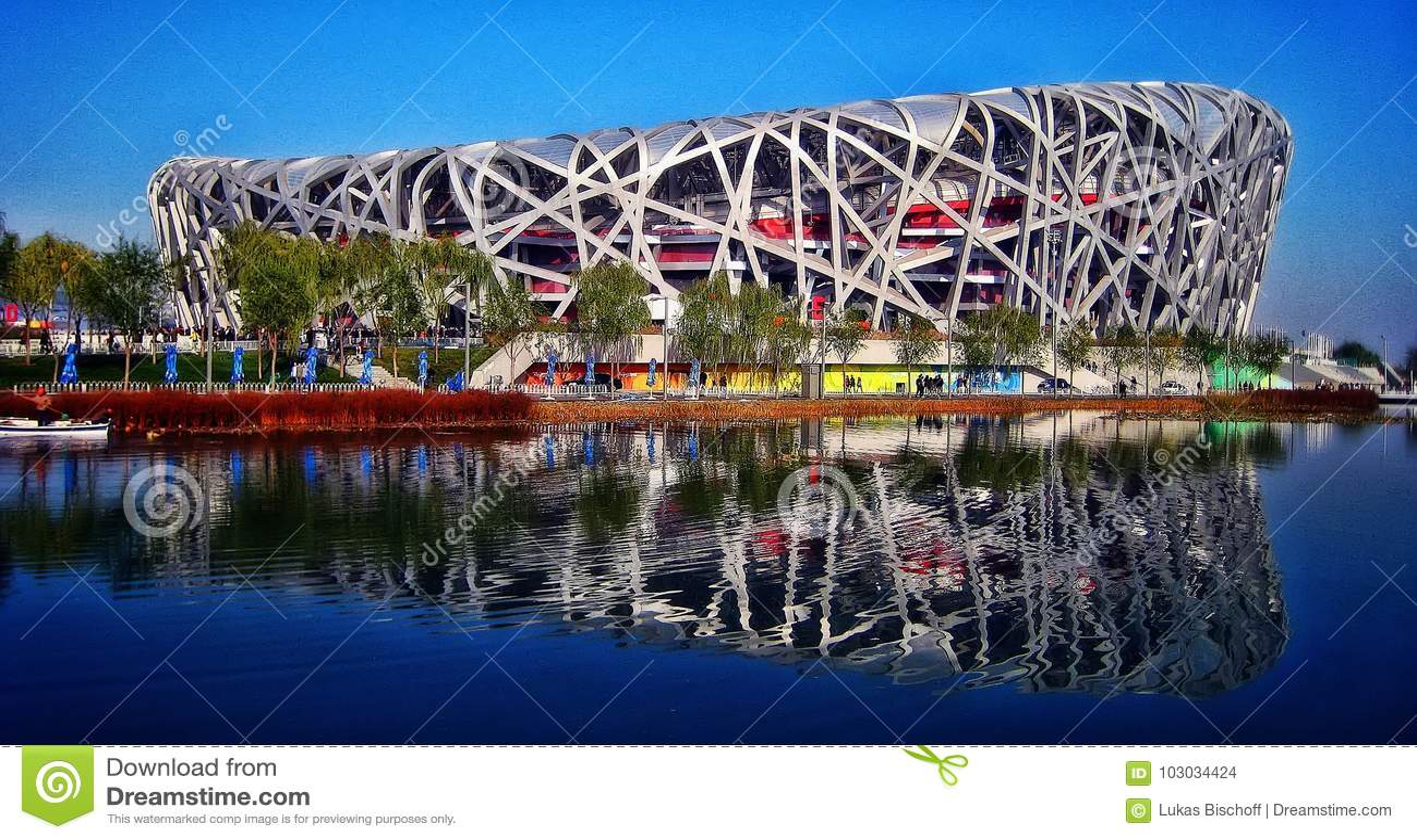 Ptasiego ` s gniazdeczka Krajowy stadium Pekin