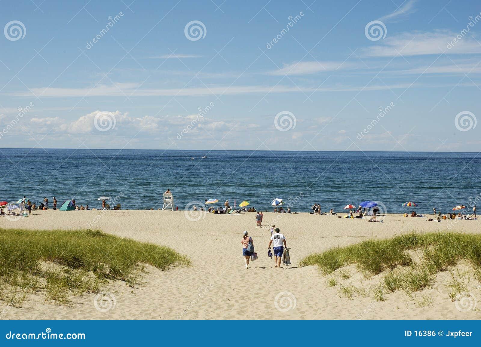 Ptown na plaży