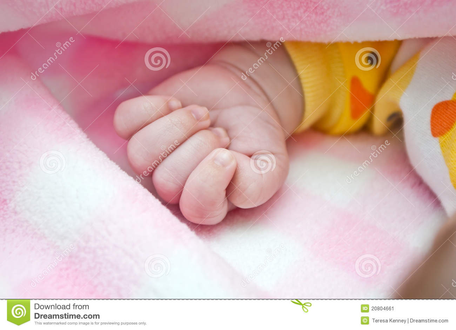 Puño del bebé