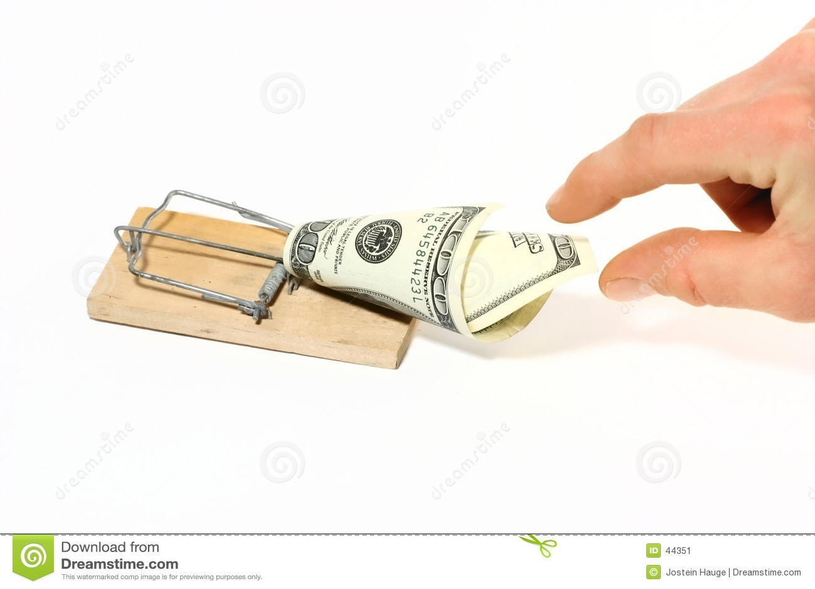 Pułapka pieniądze